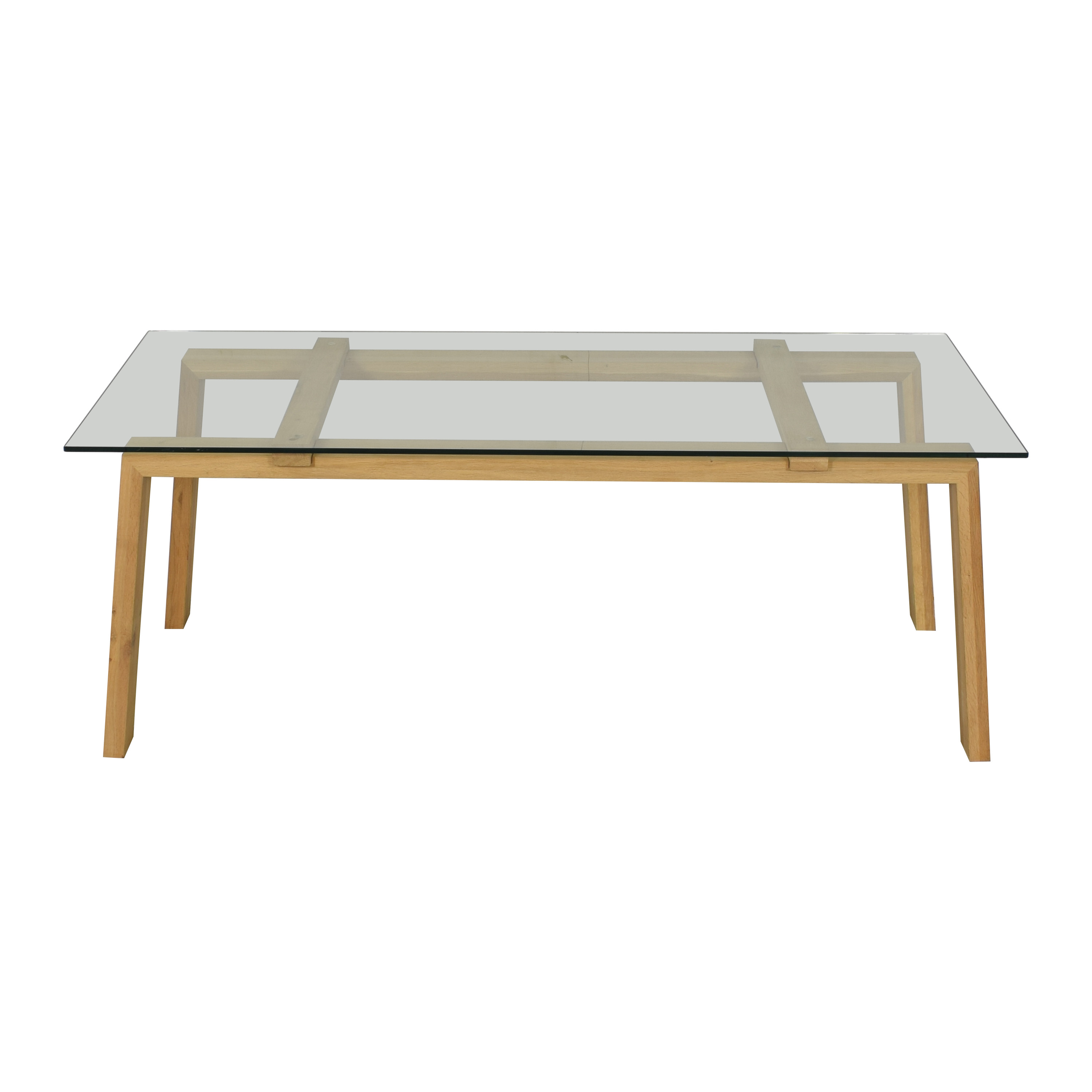shop ABC Carpet & Home ABC Carpet & Home Ethnicraft Dining Table with Wood Base online