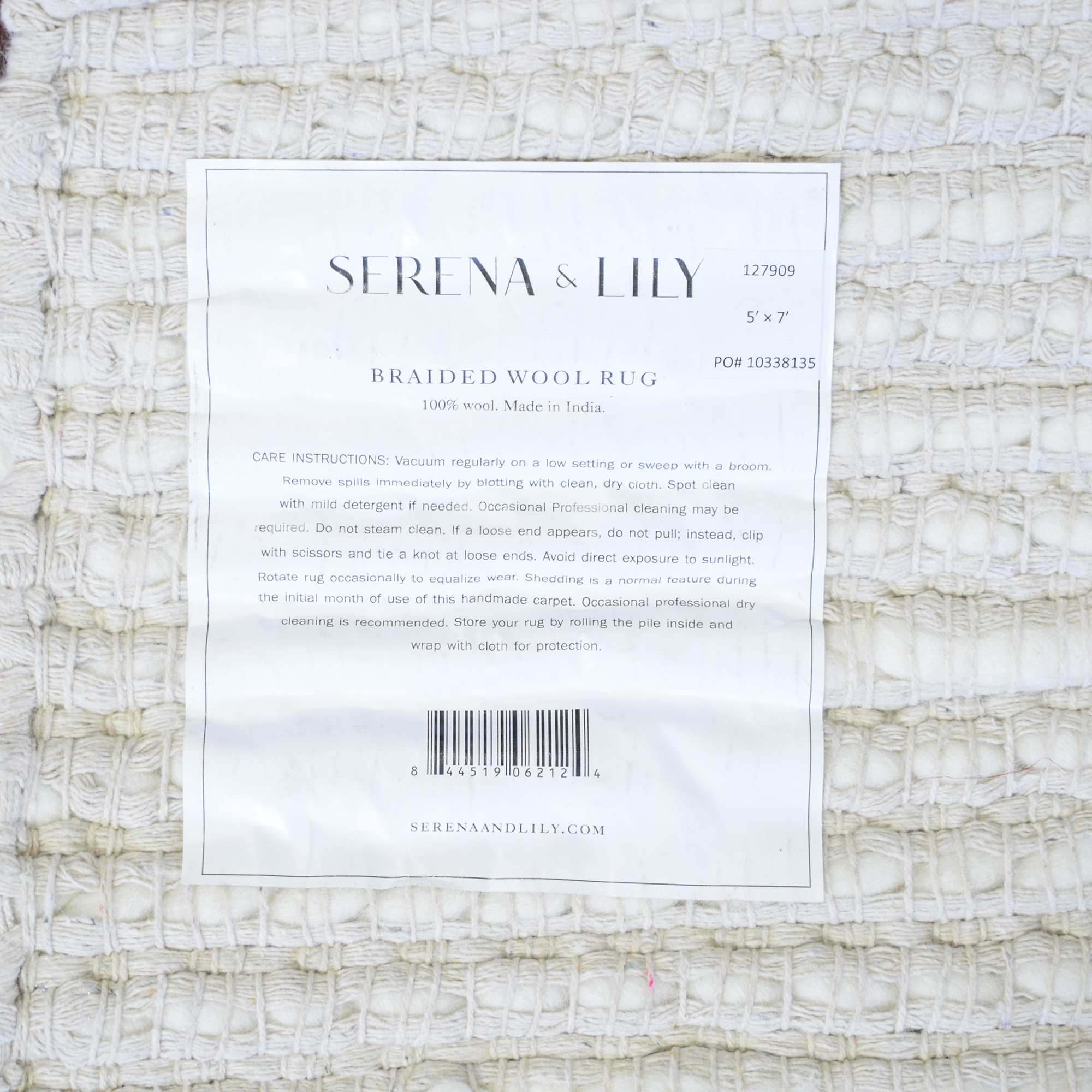 Serena & Lily Serena & Lilly Braided Wool Rug Rugs
