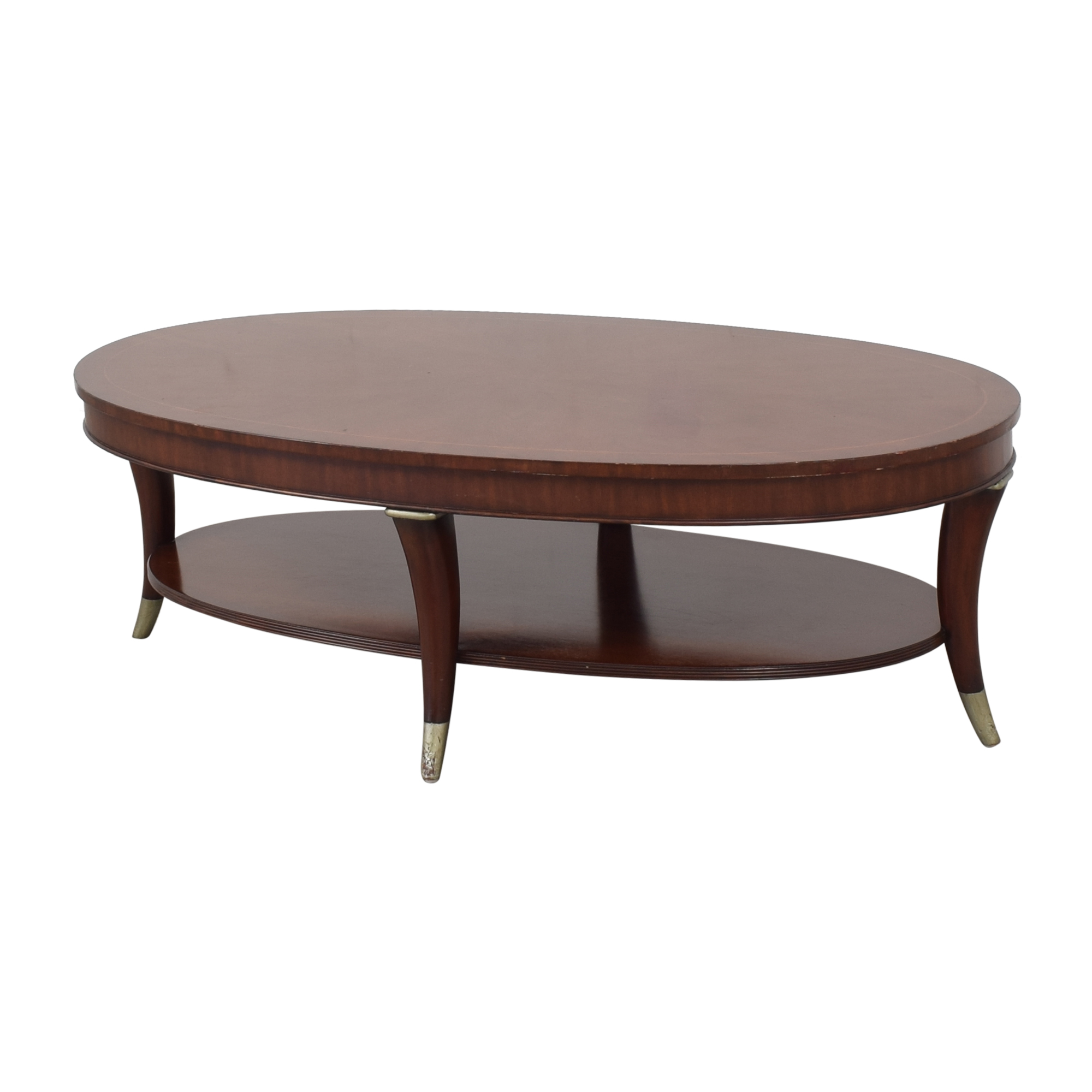 Thomasville Thomasville Oval Coffee Table ma