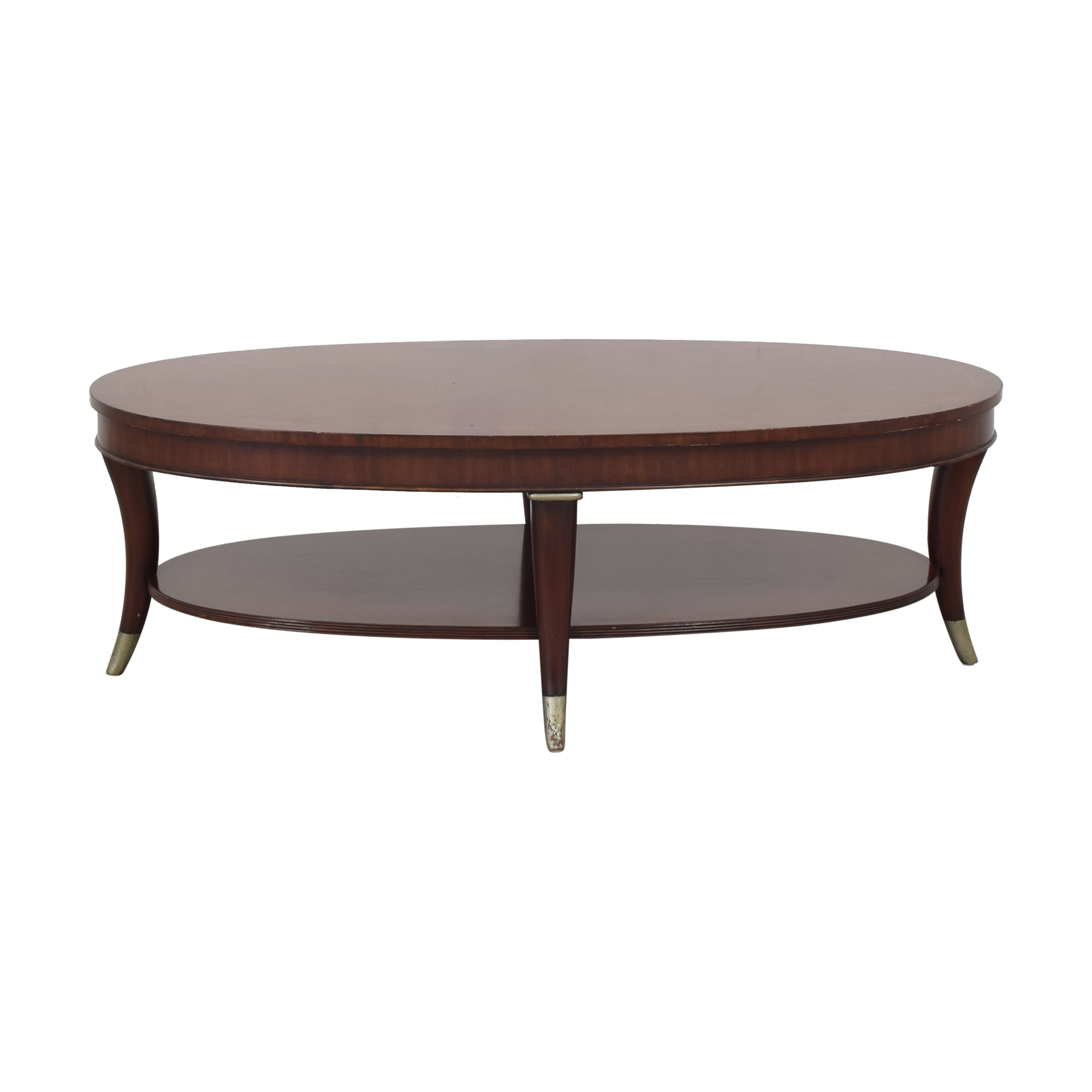 buy Thomasville Thomasville Oval Coffee Table online
