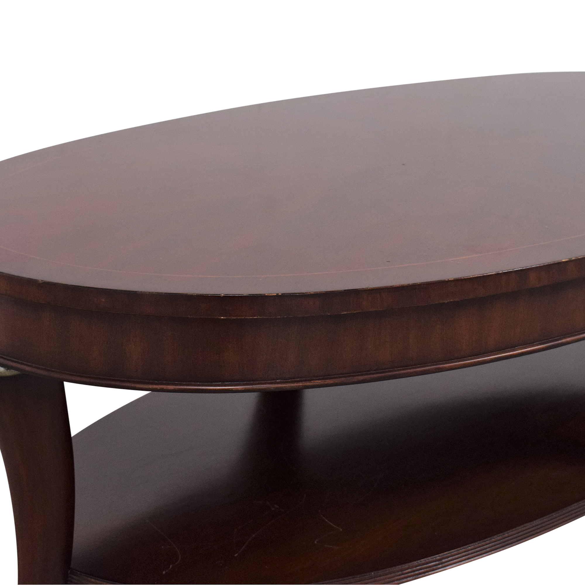 Thomasville Thomasville Oval Coffee Table Coffee Tables