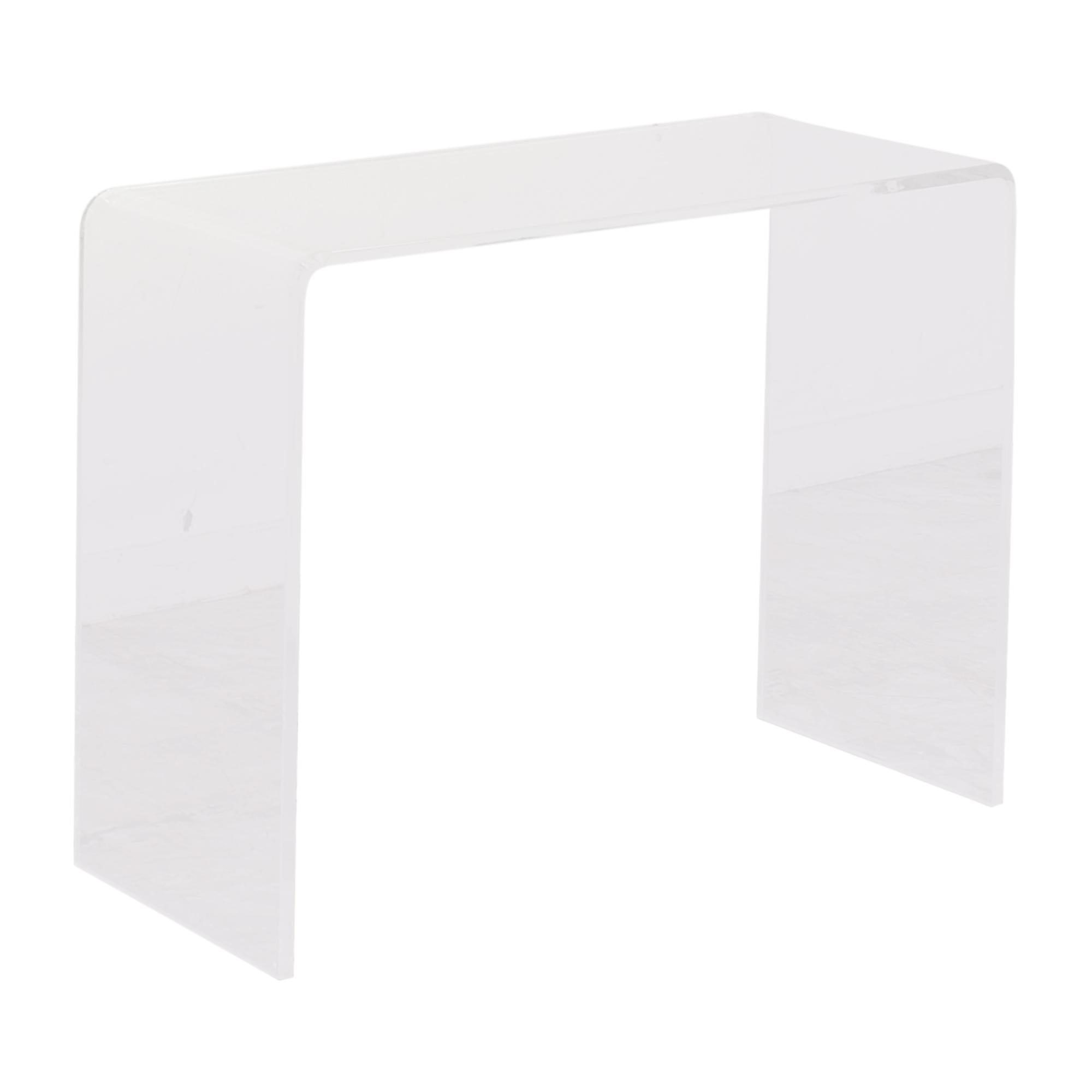 buy CB2 CB2 Peekaboo Acrylic Console Table online