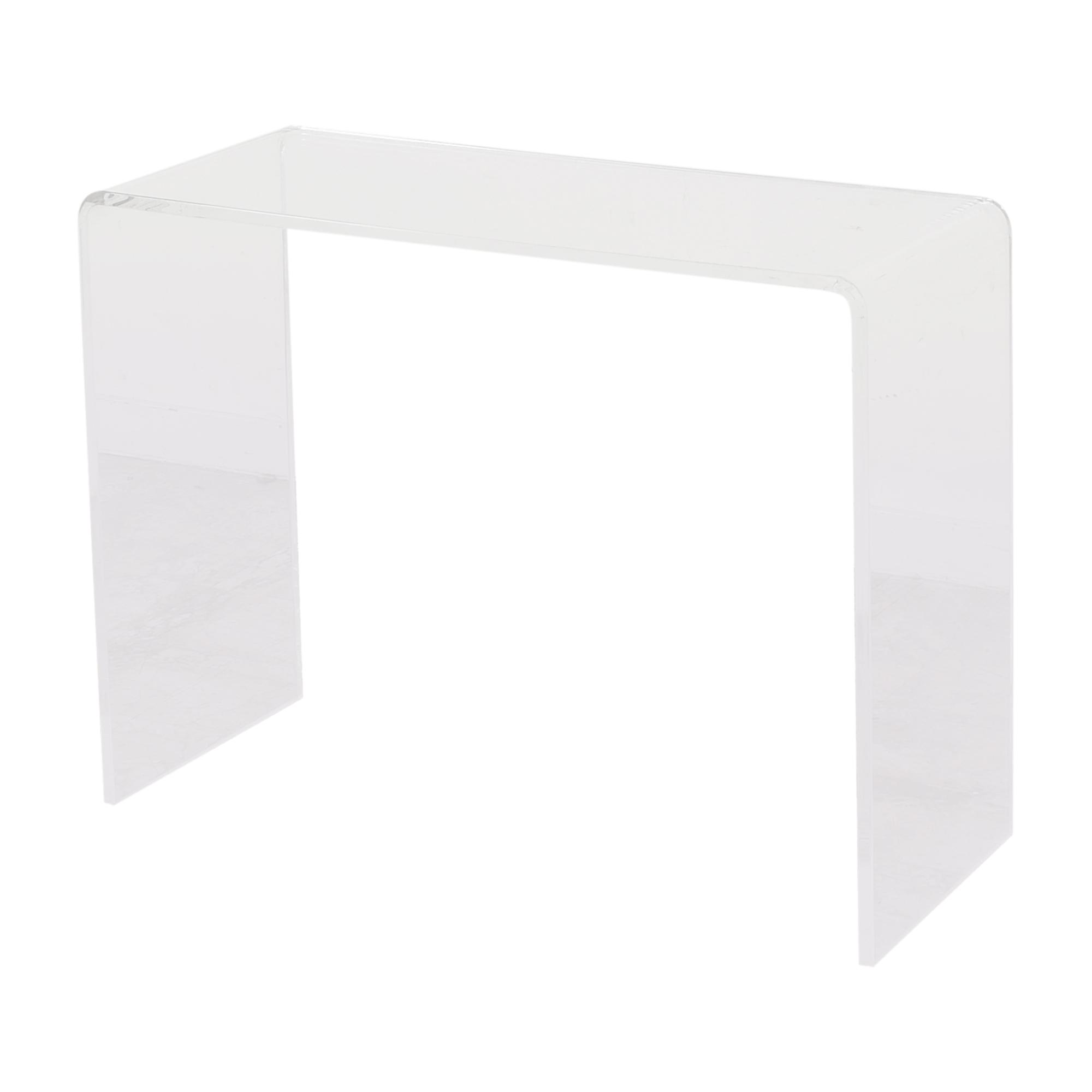 CB2 CB2 Peekaboo Acrylic Console Table ct