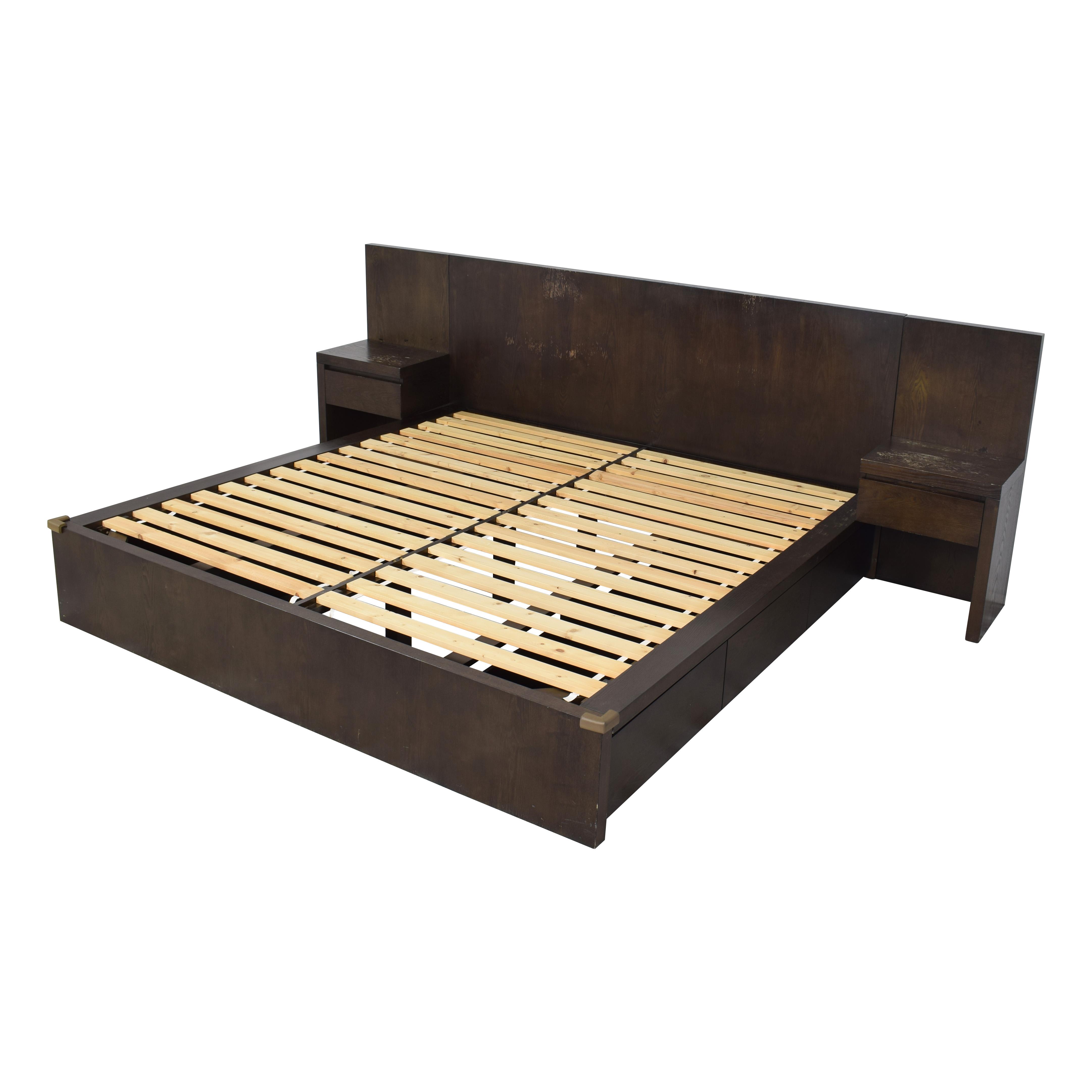 buy West Elm West Elm King Storage Bed with Nightstands online