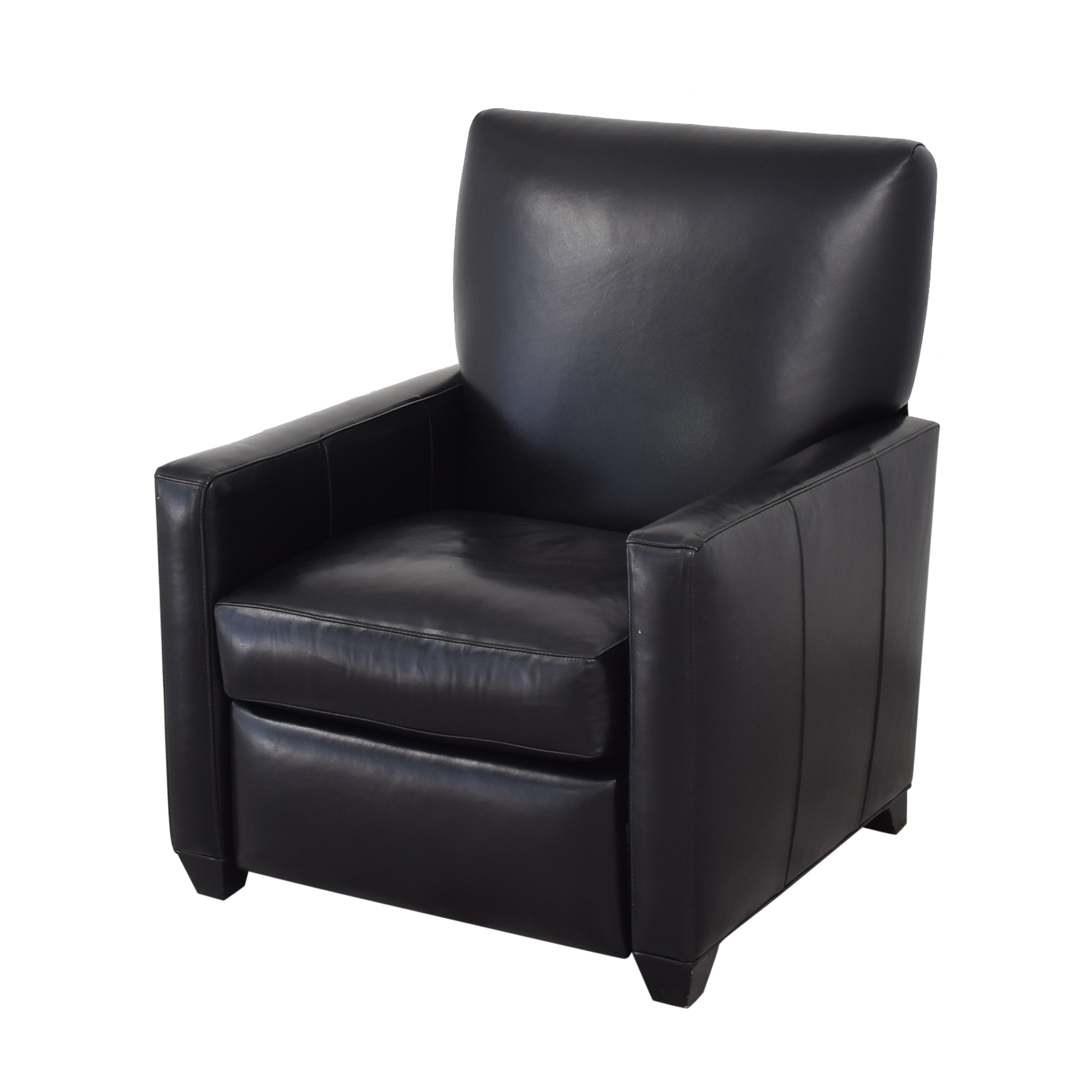 Crate & Barrel Tracy Leather Recliner / Recliners