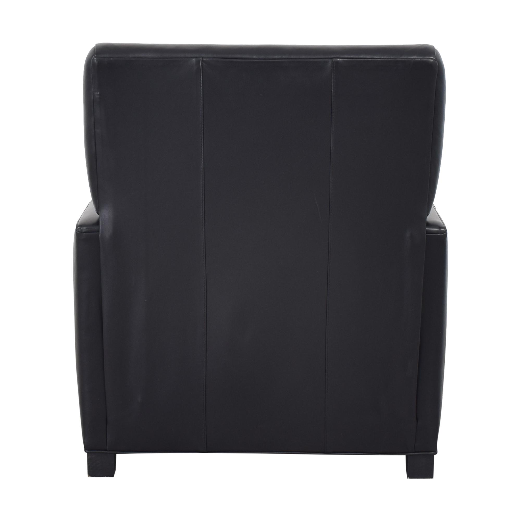 Crate & Barrel Crate & Barrel Tracy Leather Recliner dimensions
