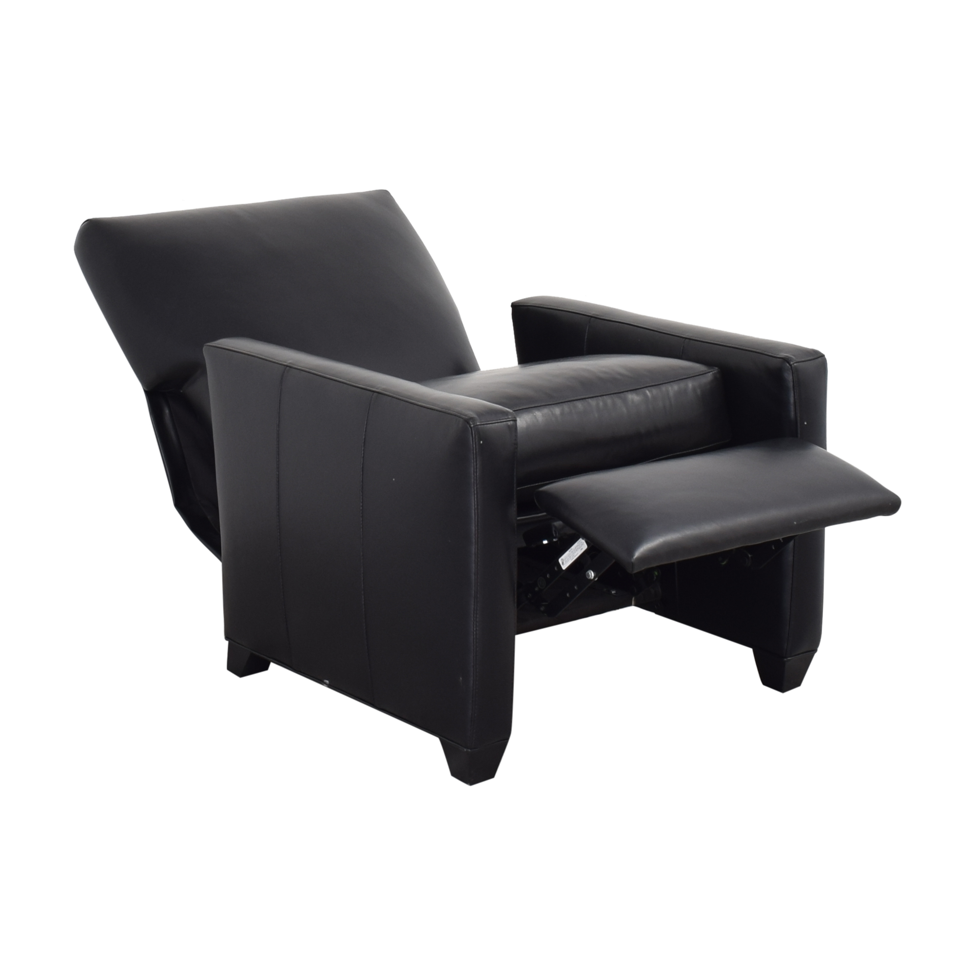 Crate & Barrel Crate & Barrel Tracy Leather Recliner Chairs