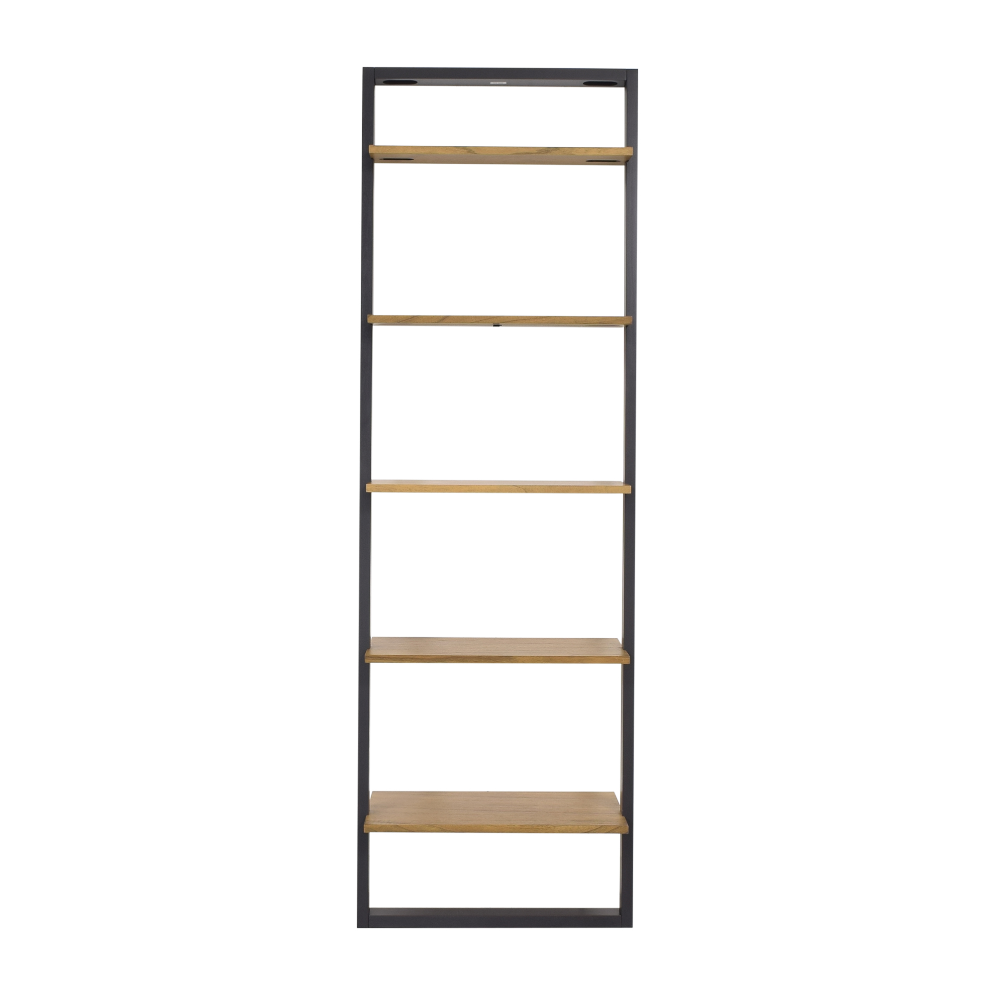 West Elm West Elm Wide Ladder Bookshelf dimensions