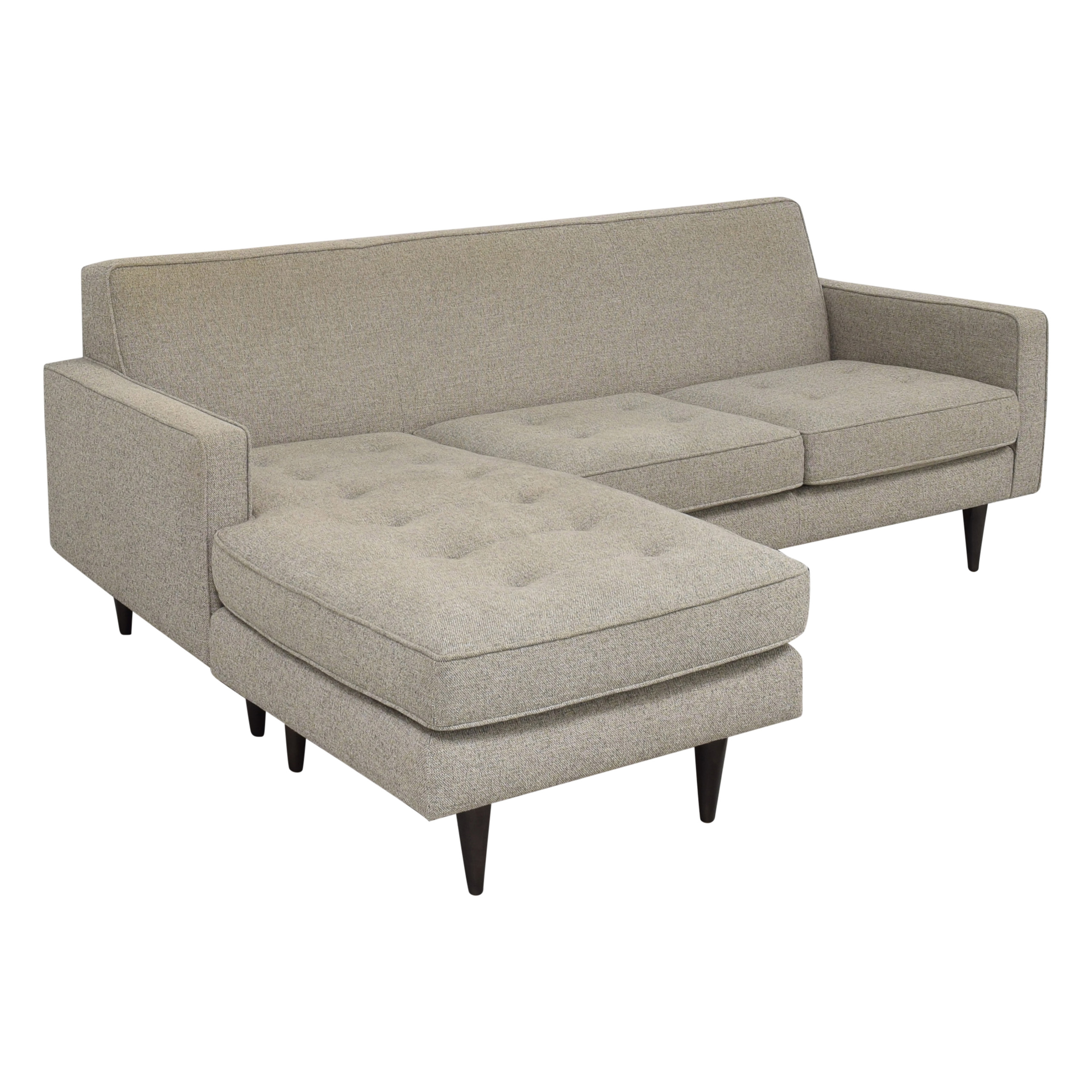 buy Room & Board Reese Three-Cushion Sofa with Reversible Chaise Room & Board
