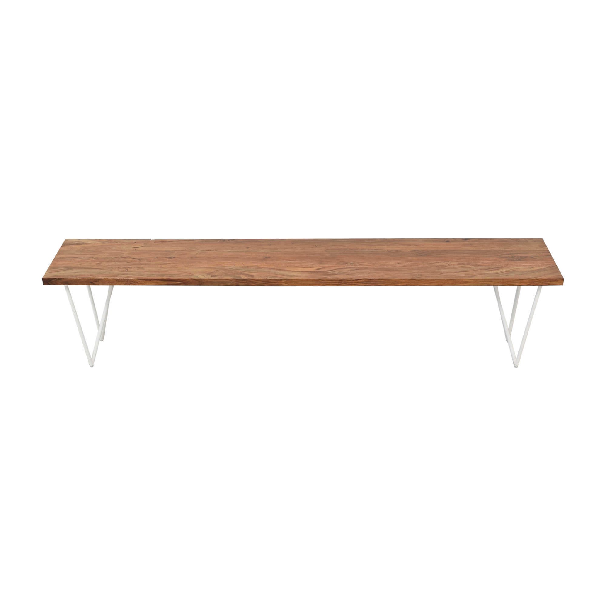 CB2 CB2 Wood Bench pa