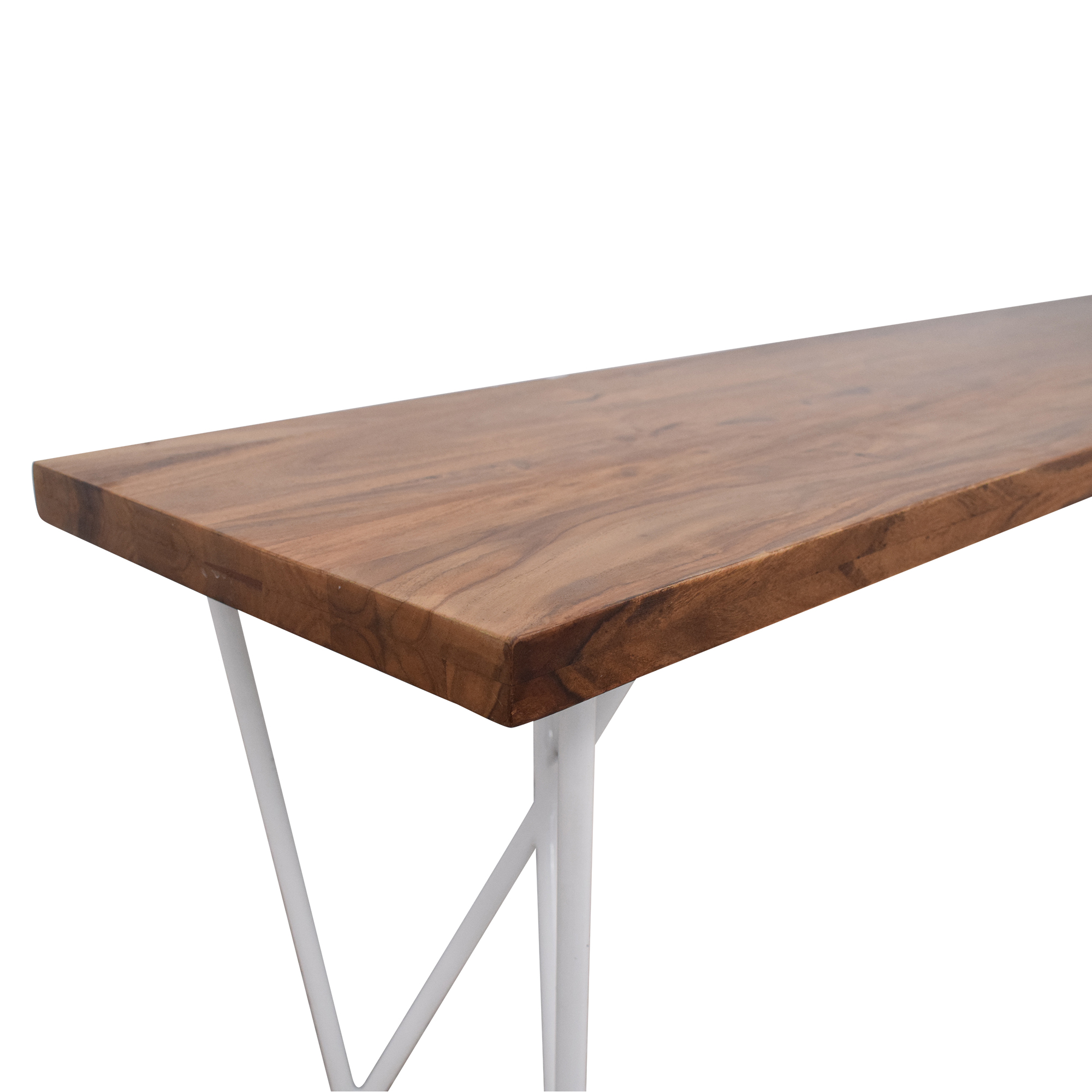 CB2 CB2 Wood Bench for sale