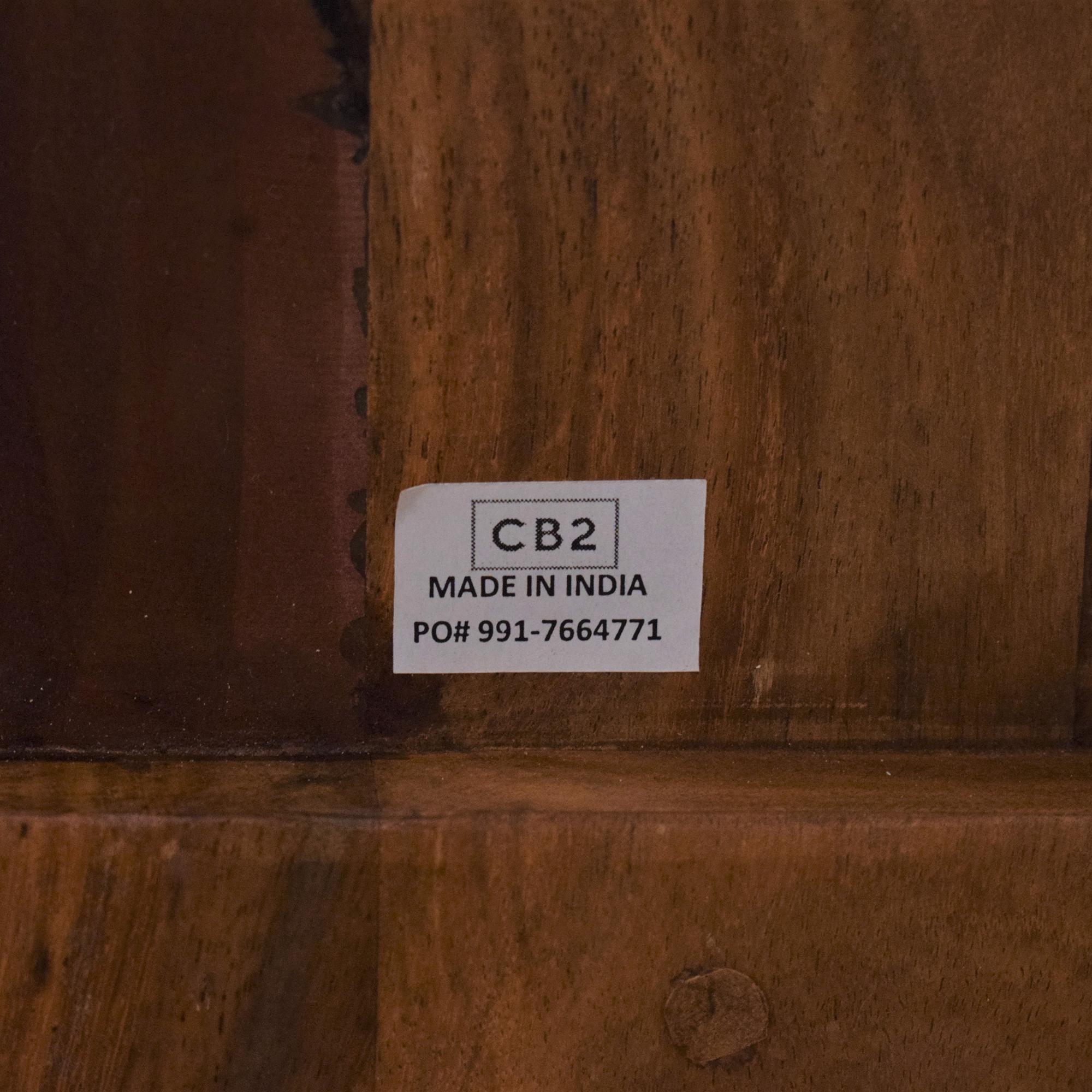 CB2 CB2 Wood Bench discount