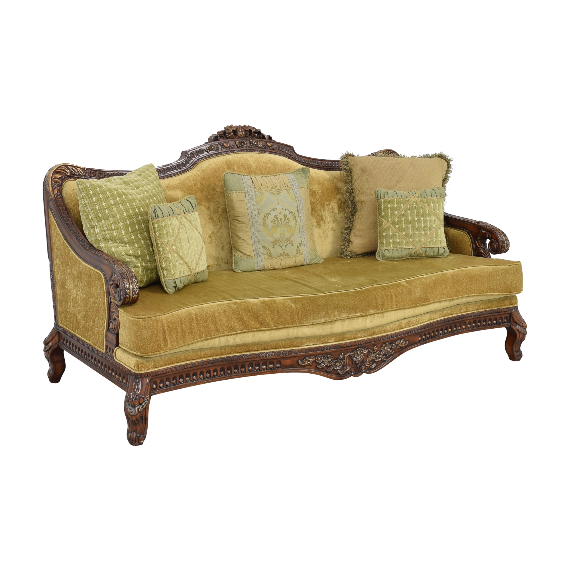 Vintage Cabriole Sofa ma