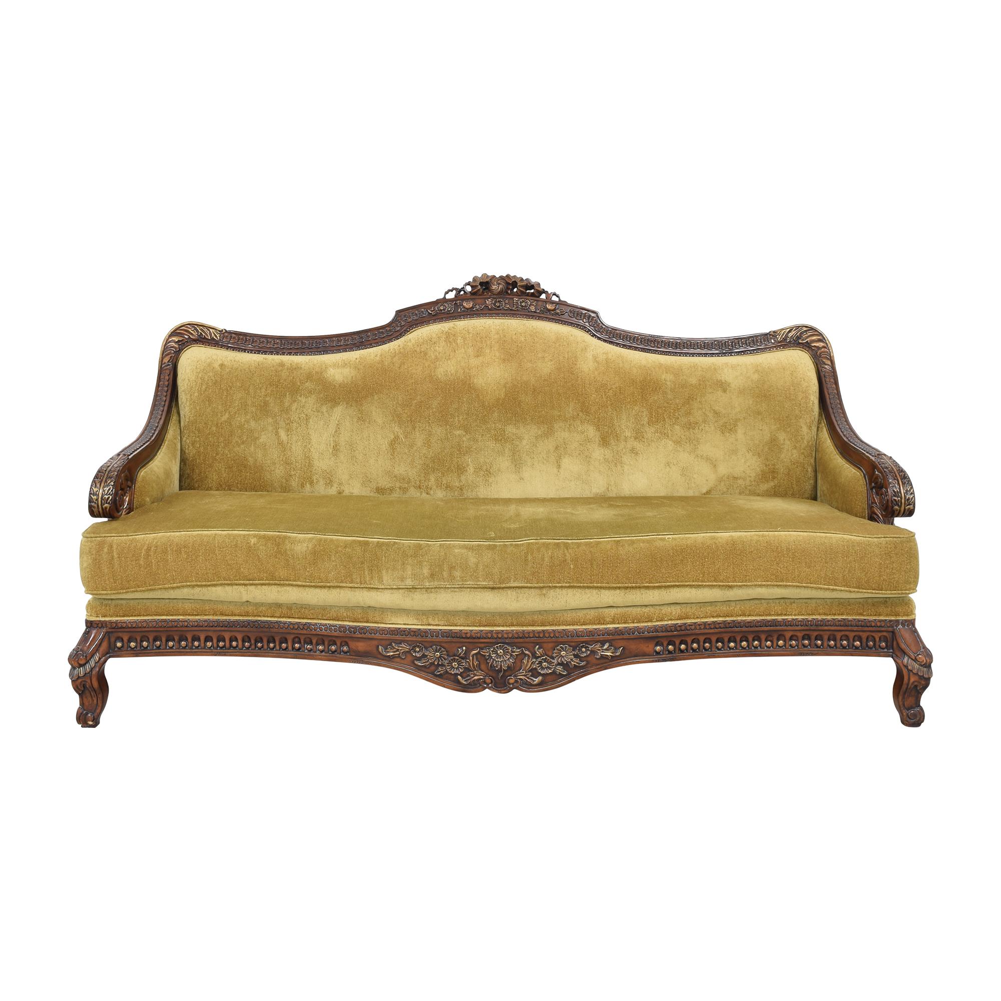 Vintage Cabriole Sofa