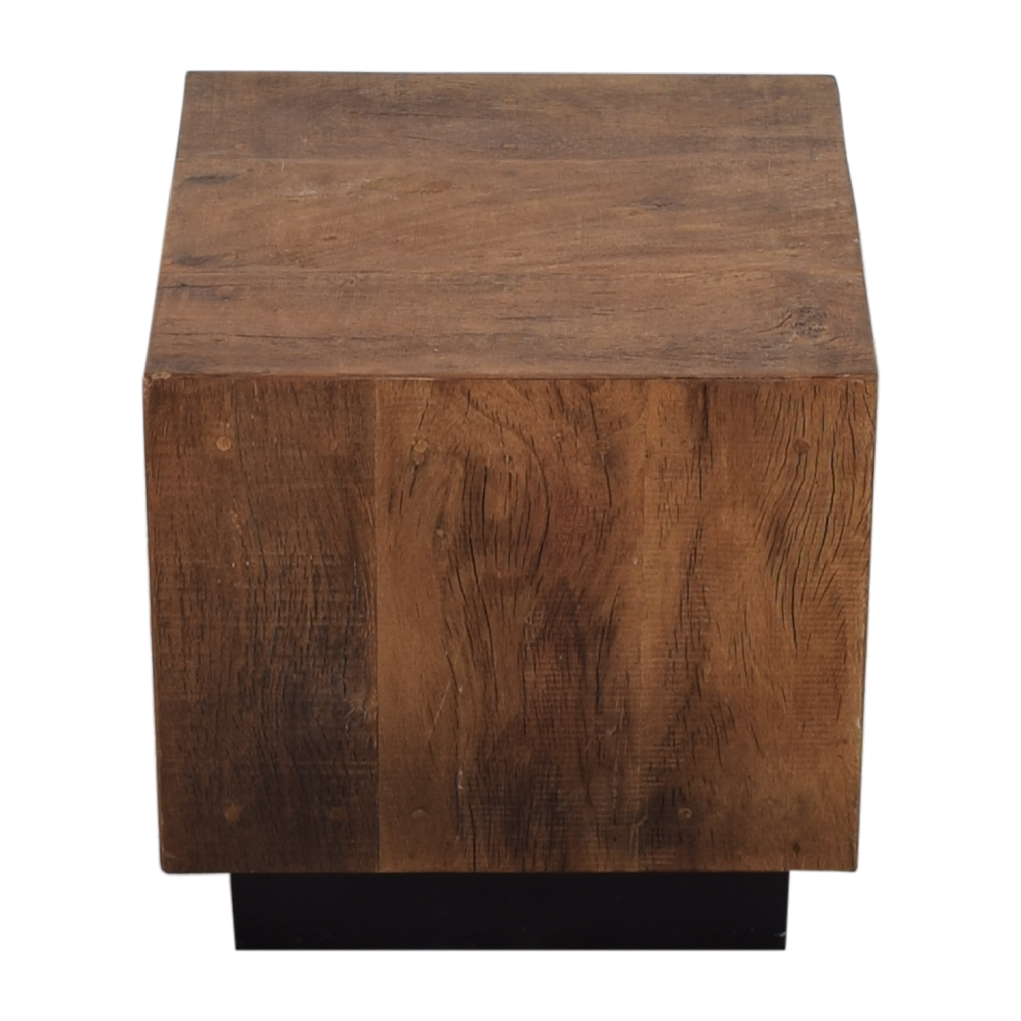 Environment Furniture Environment Furniture Cube End Table brown and black