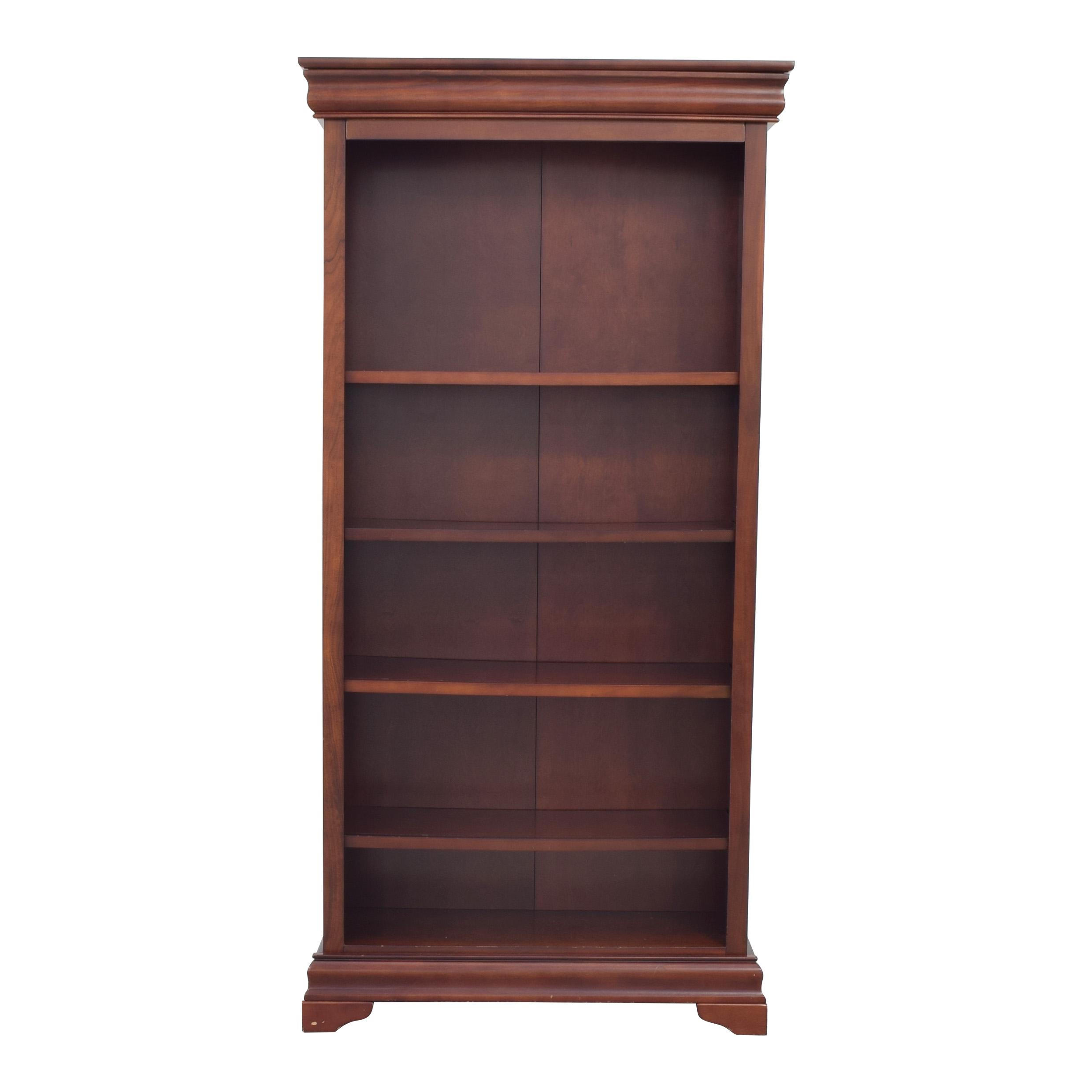 shop Home Decorators Collection Louis Phillipe Open Bookcase Home Decorators Collection Bookcases & Shelving