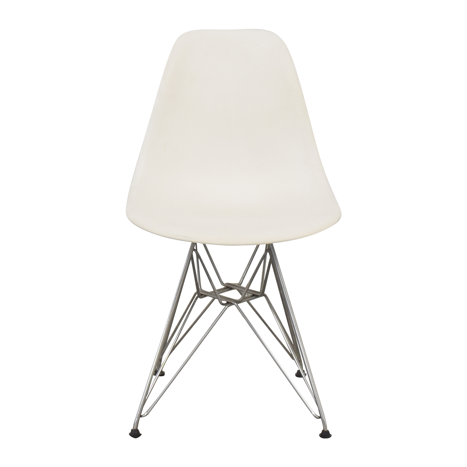 Herman Miller Herman Miller Eames Molded Plastic Dining Chair with Wire Base
