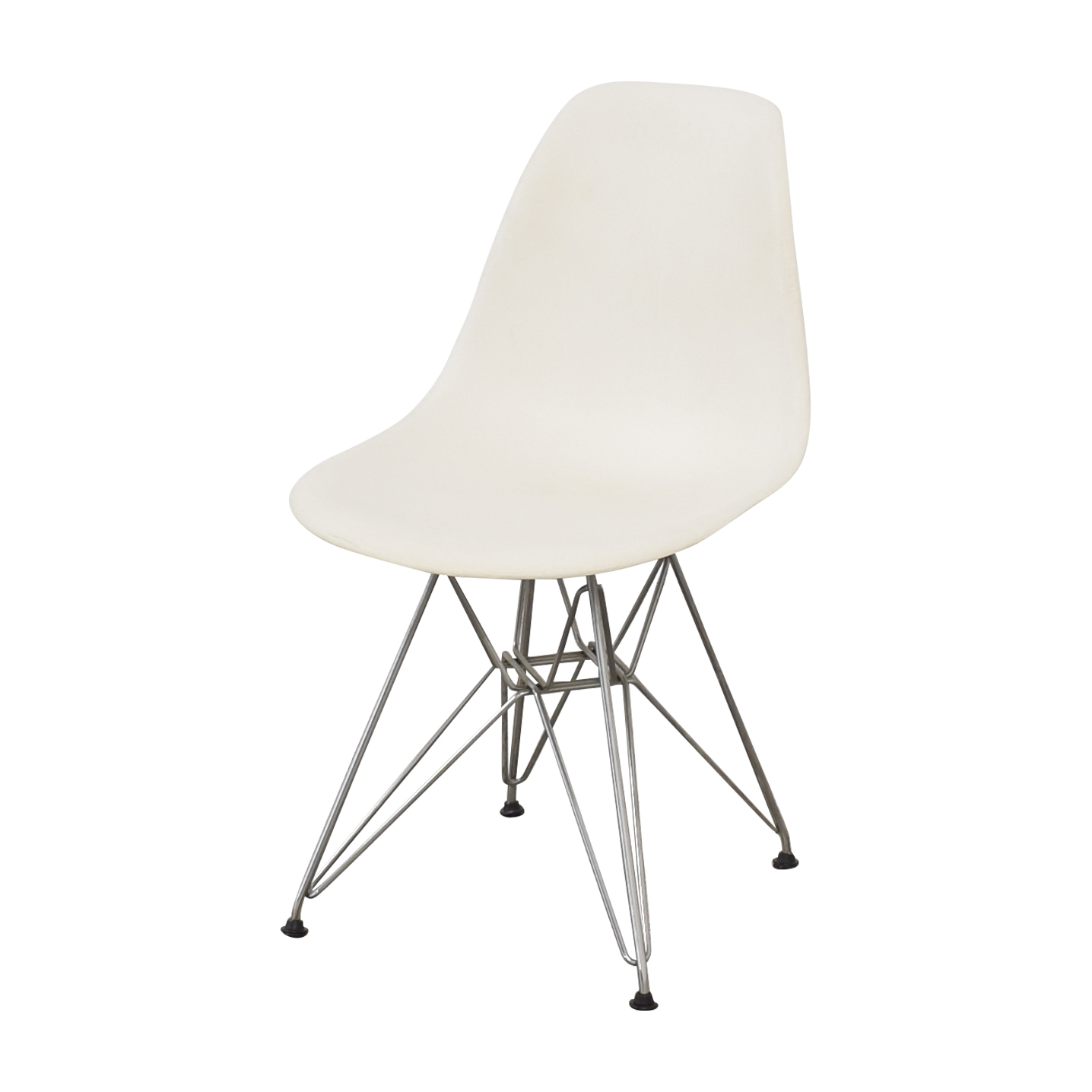 Herman Miller Herman Miller Eames Molded Plastic Dining Chair with Wire Base Dining Chairs