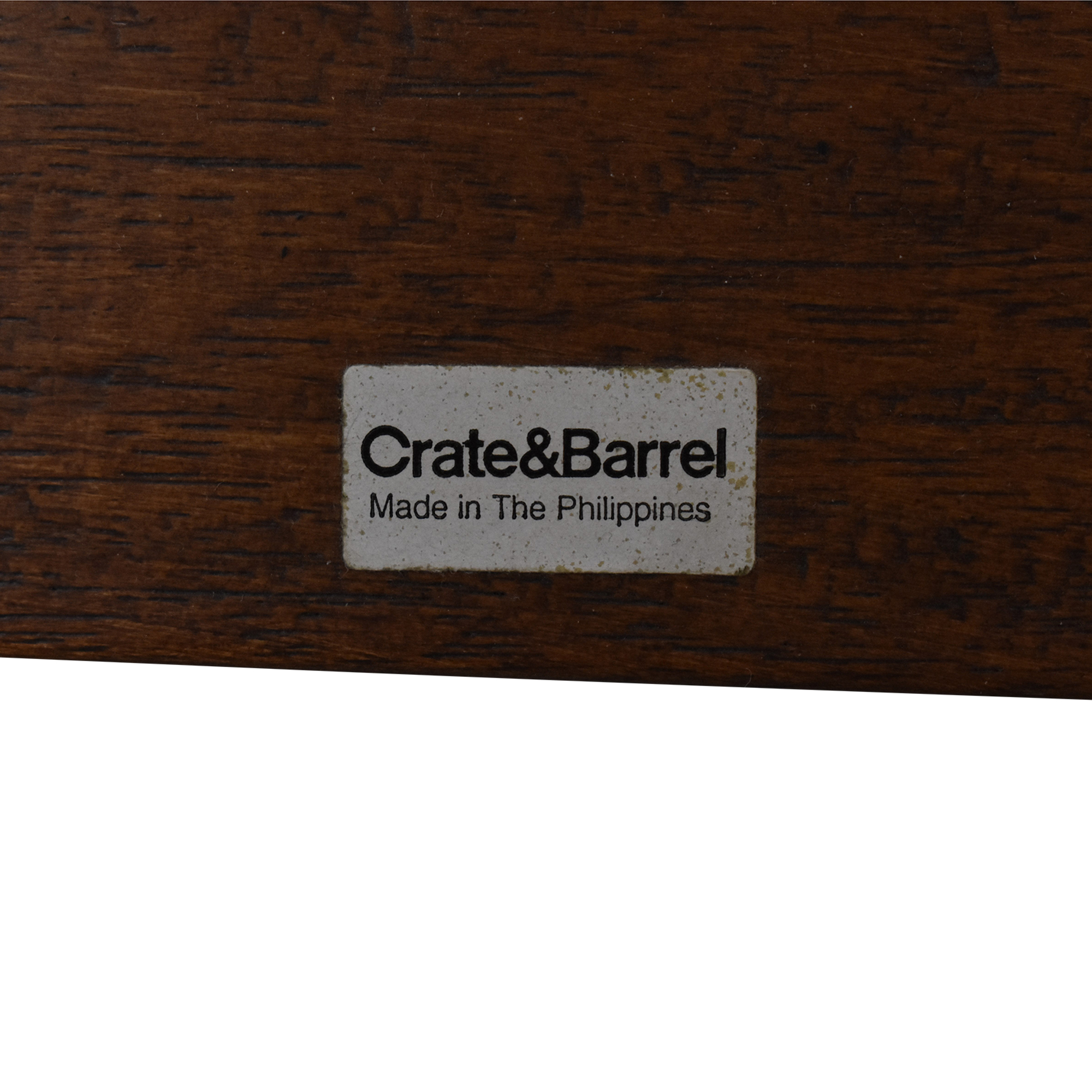 shop Crate & Barrel Woven Queen Bed Frame Crate & Barrel Beds