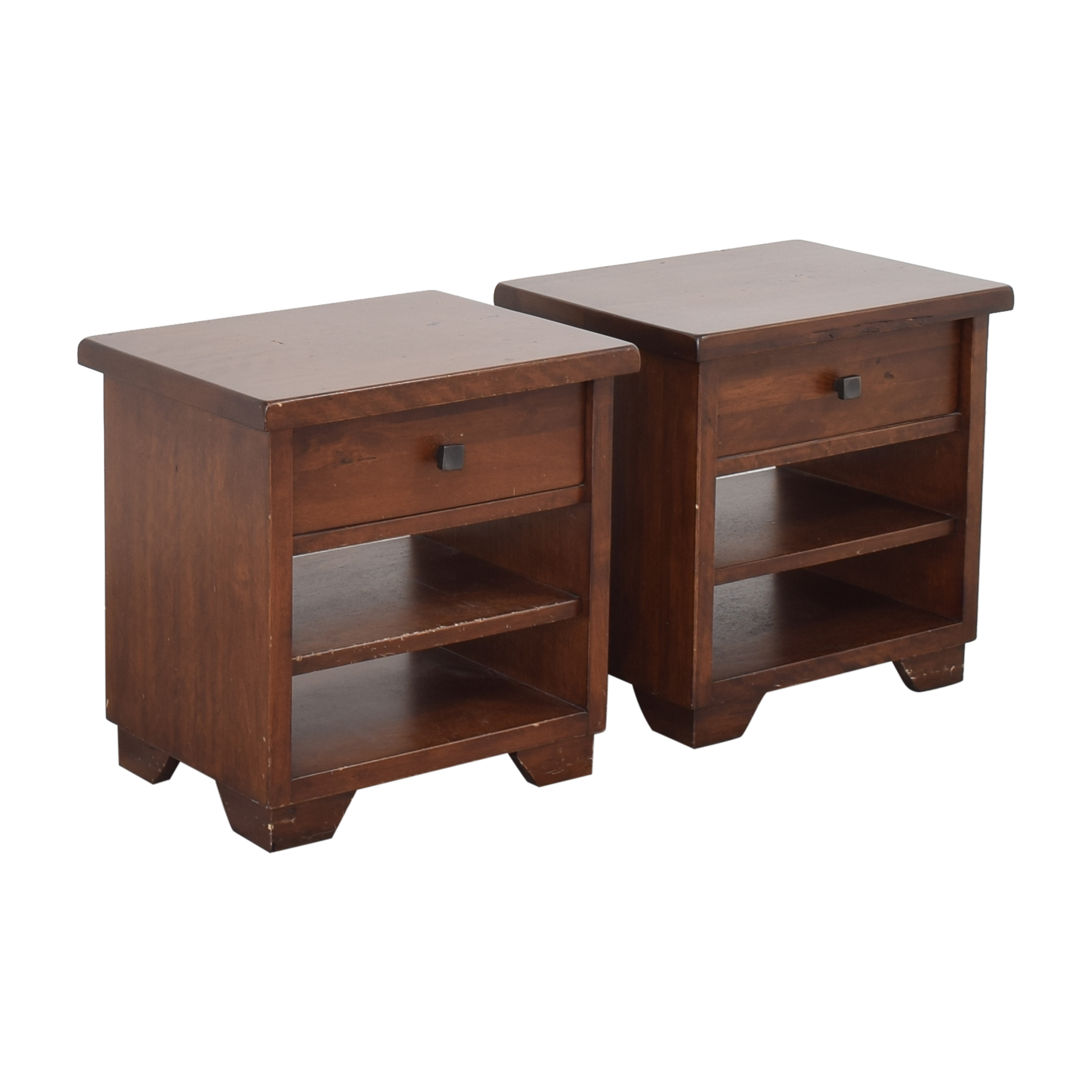 buy Pottery Barn Sumatra Nightstands Pottery Barn End Tables