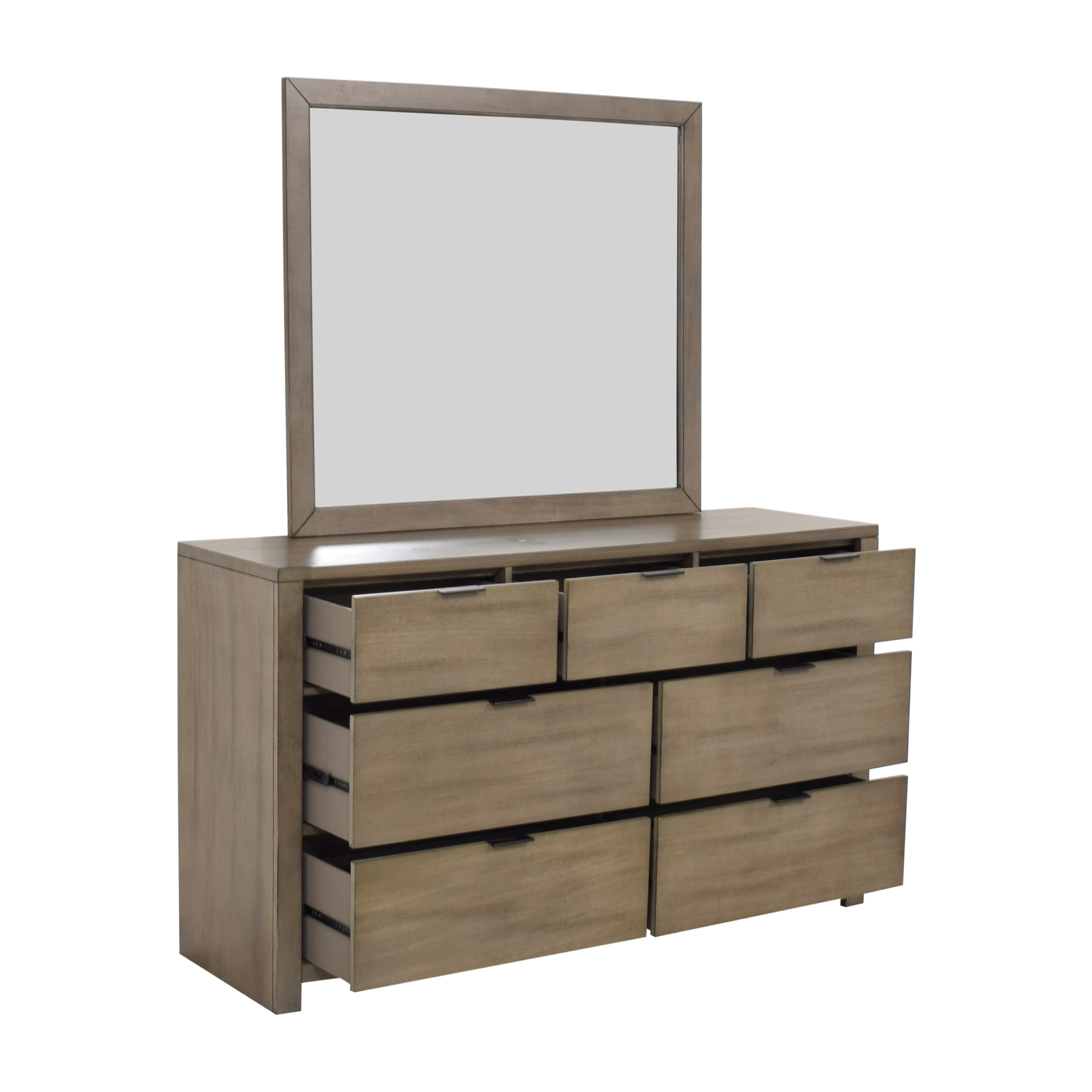 Home Meridian Home Meridian Tribeca Dresser and Landscape Mirror discount