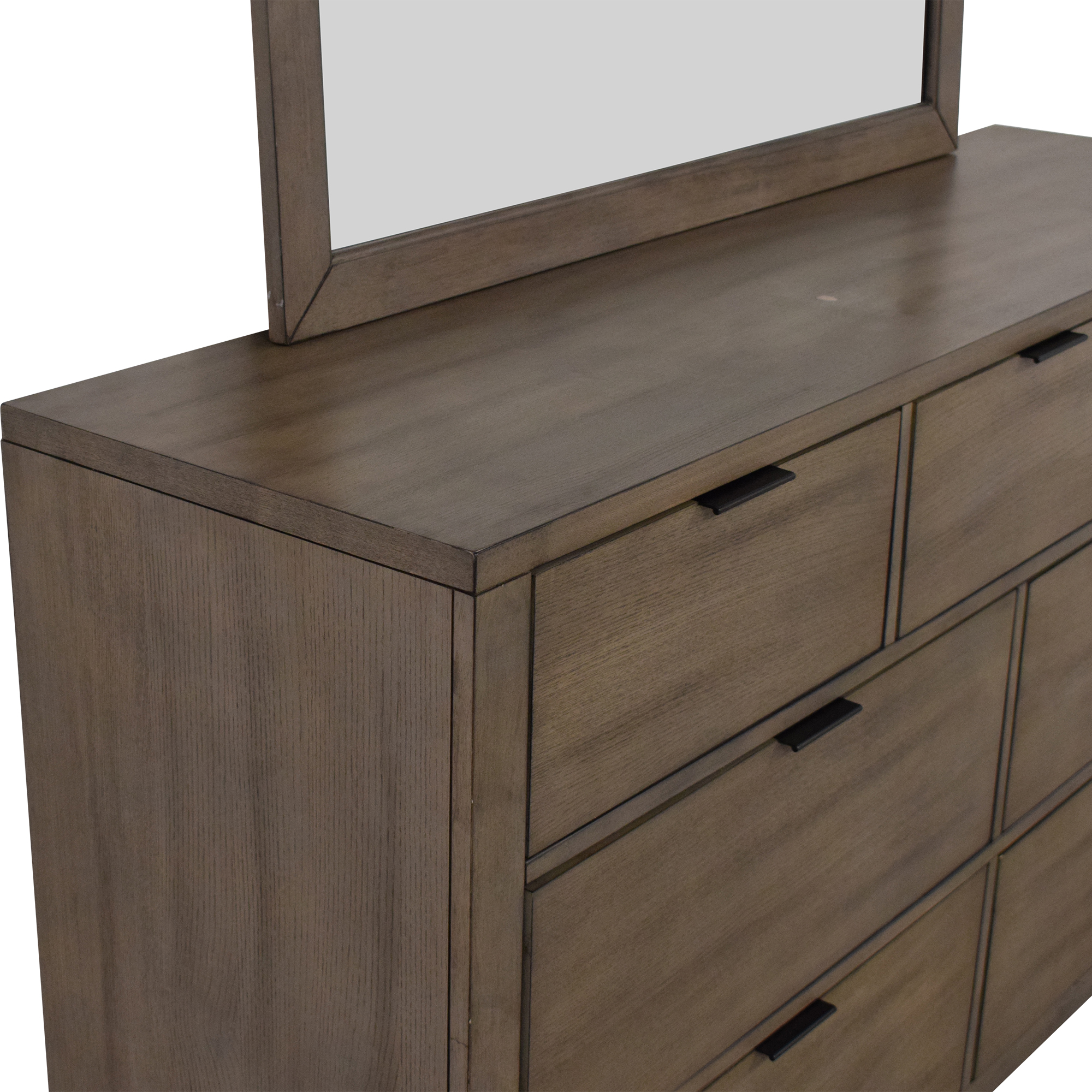 Home Meridian Home Meridian Tribeca Dresser and Landscape Mirror second hand
