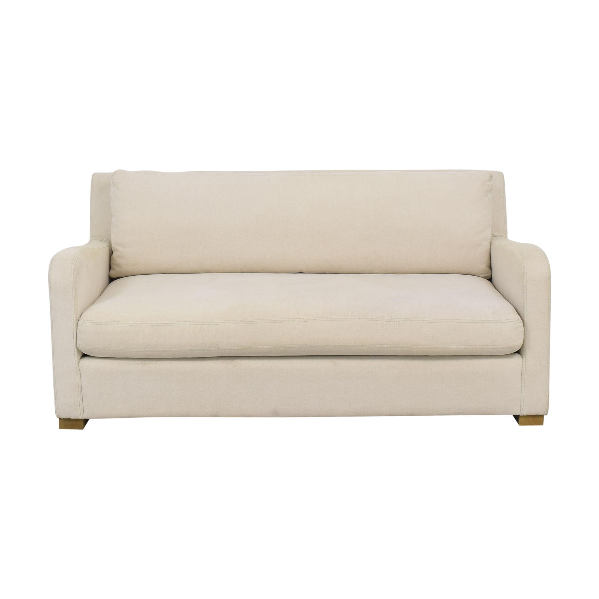 Restoration Hardware Restoration Hardware Belgian Slope Arm Sofa price