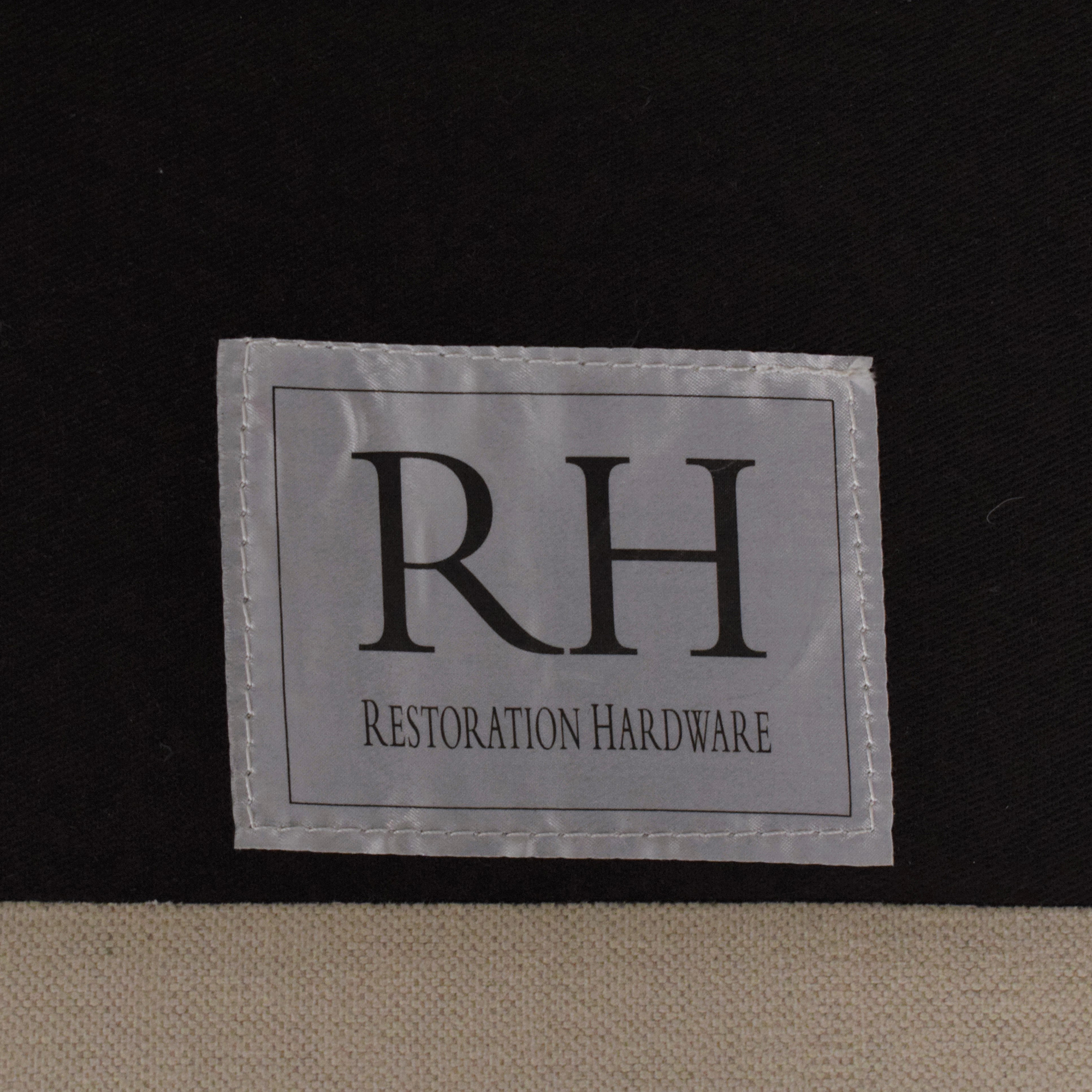 Restoration Hardware Restoration Hardware Belgian Slope Arm Sofa coupon