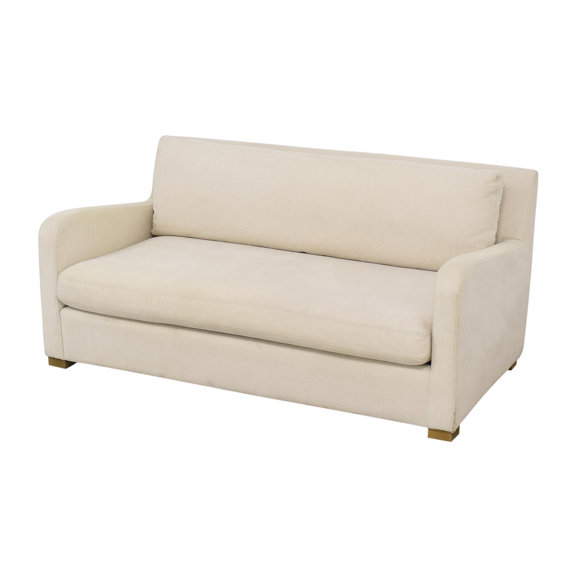 Restoration Hardware Belgian Slope Arm Sofa / Classic Sofas