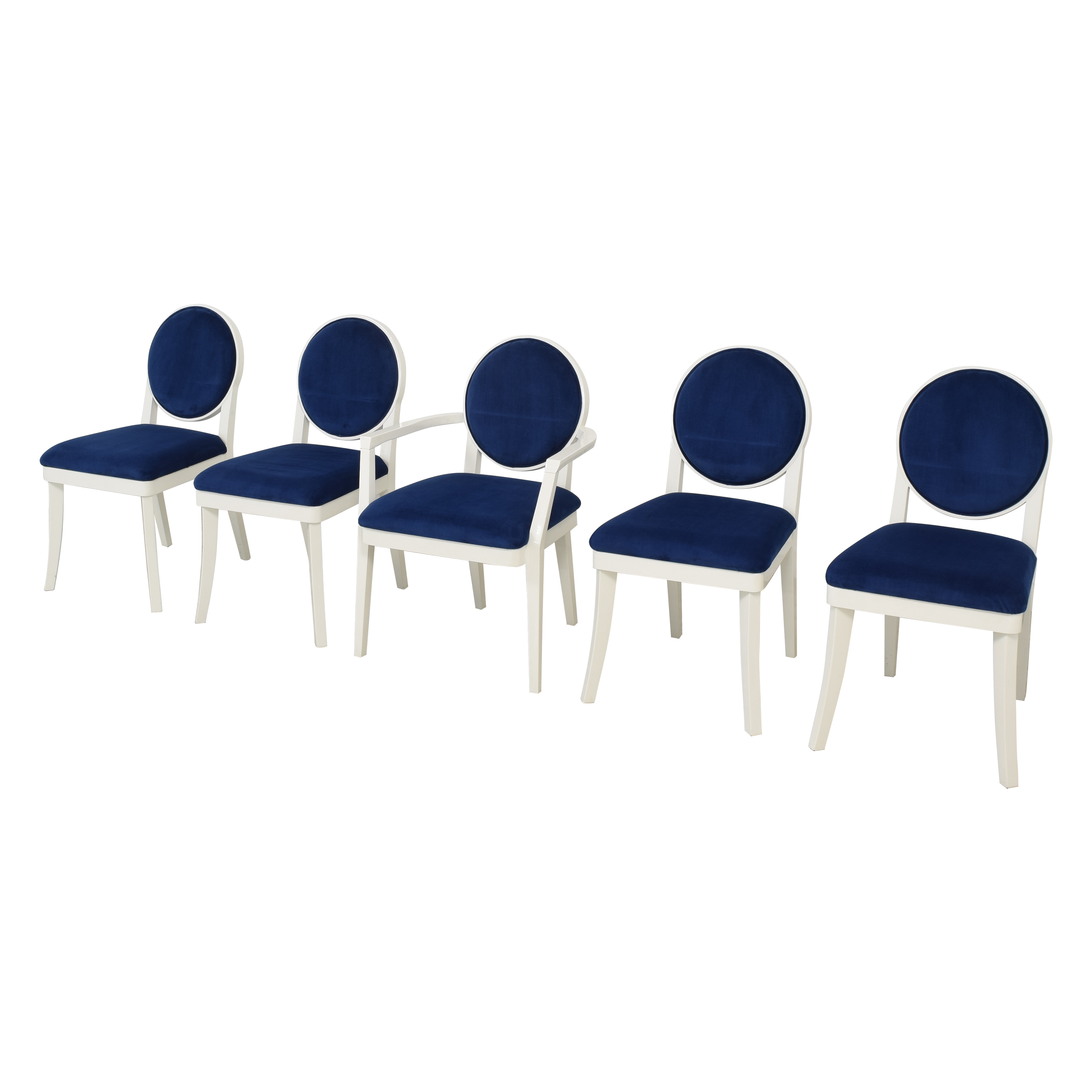 Jonathan Adler Happy Chic Dining Chairs sale