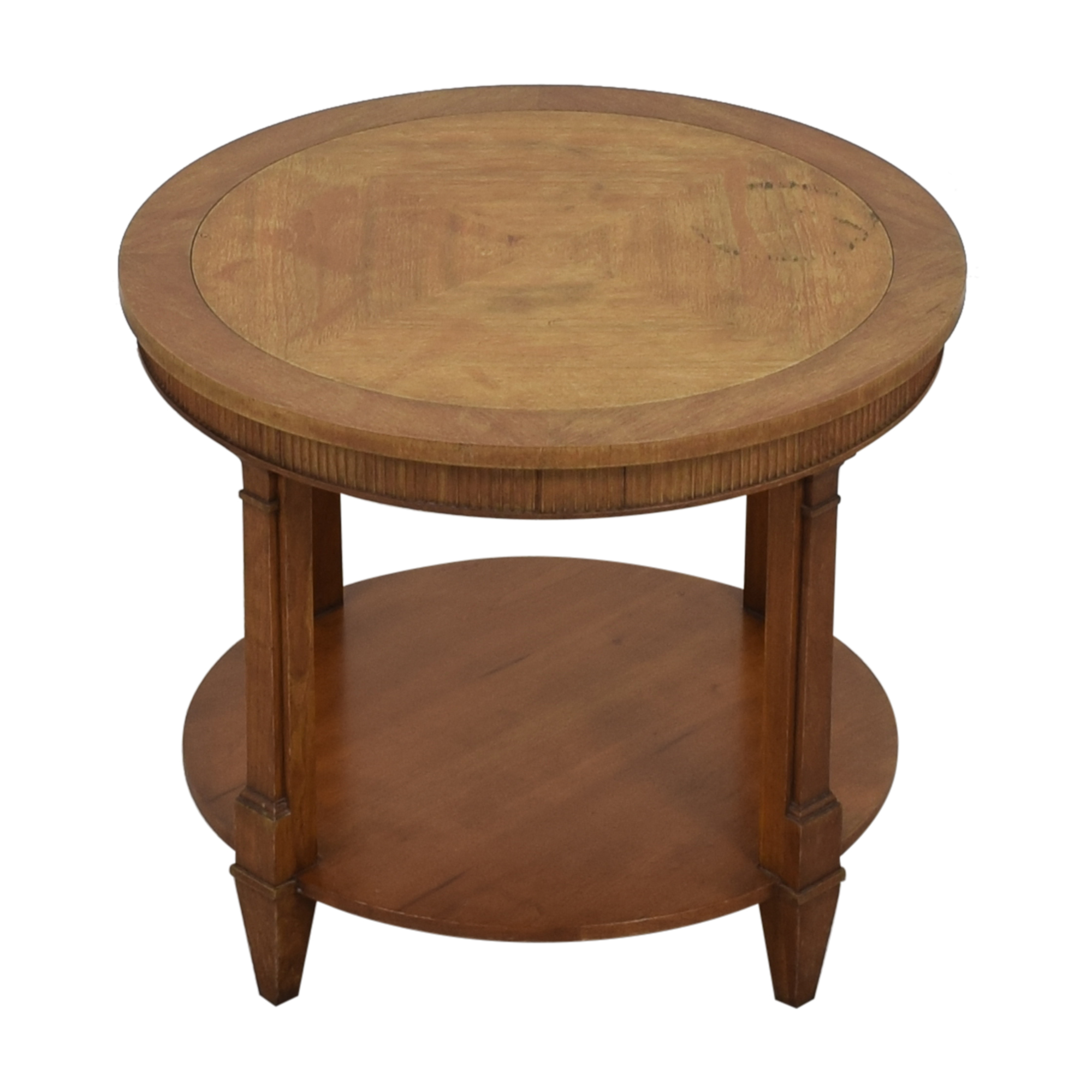 shop Baker Furniture Round Accent Table Baker Furniture