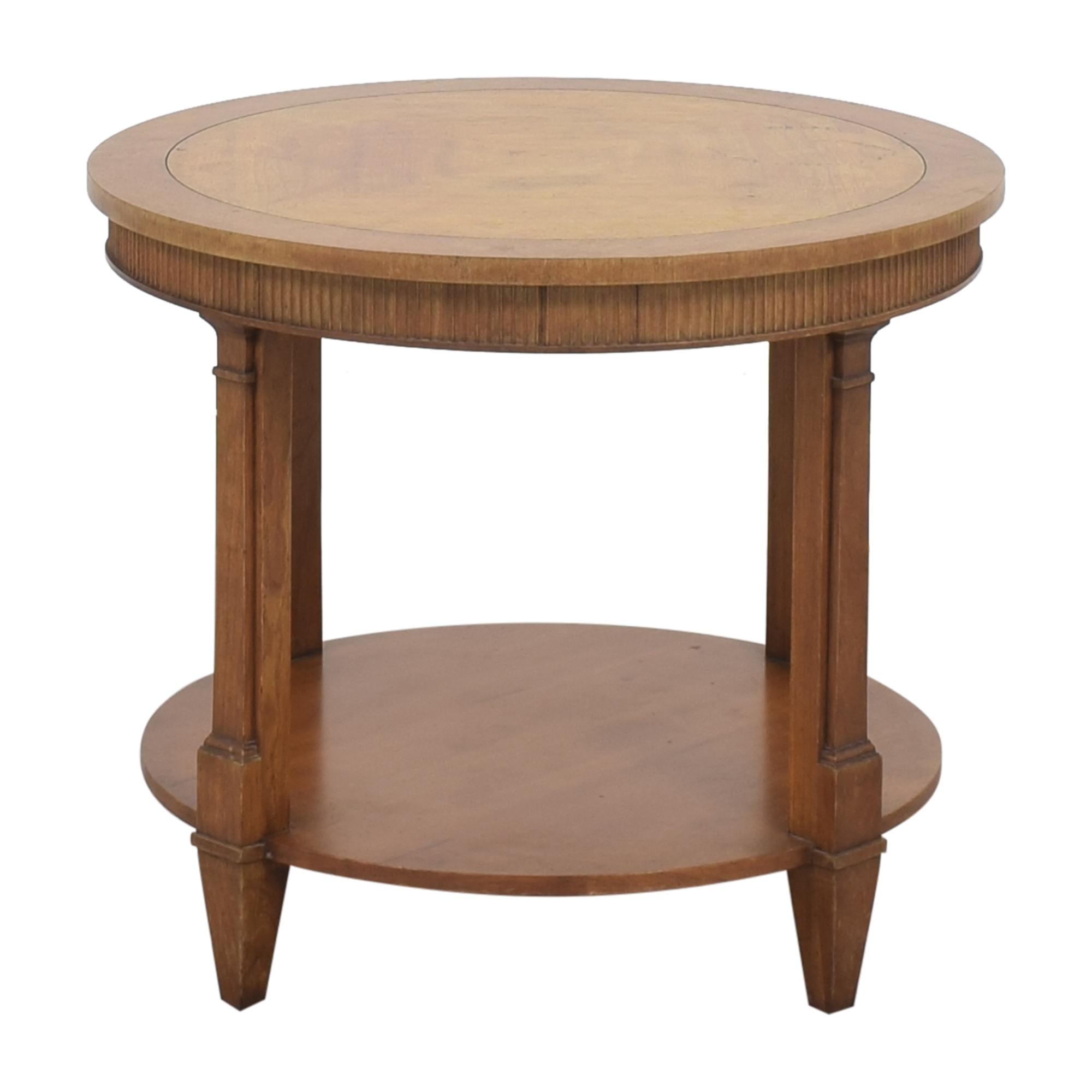 Baker Furniture Baker Furniture Round Accent Table ct