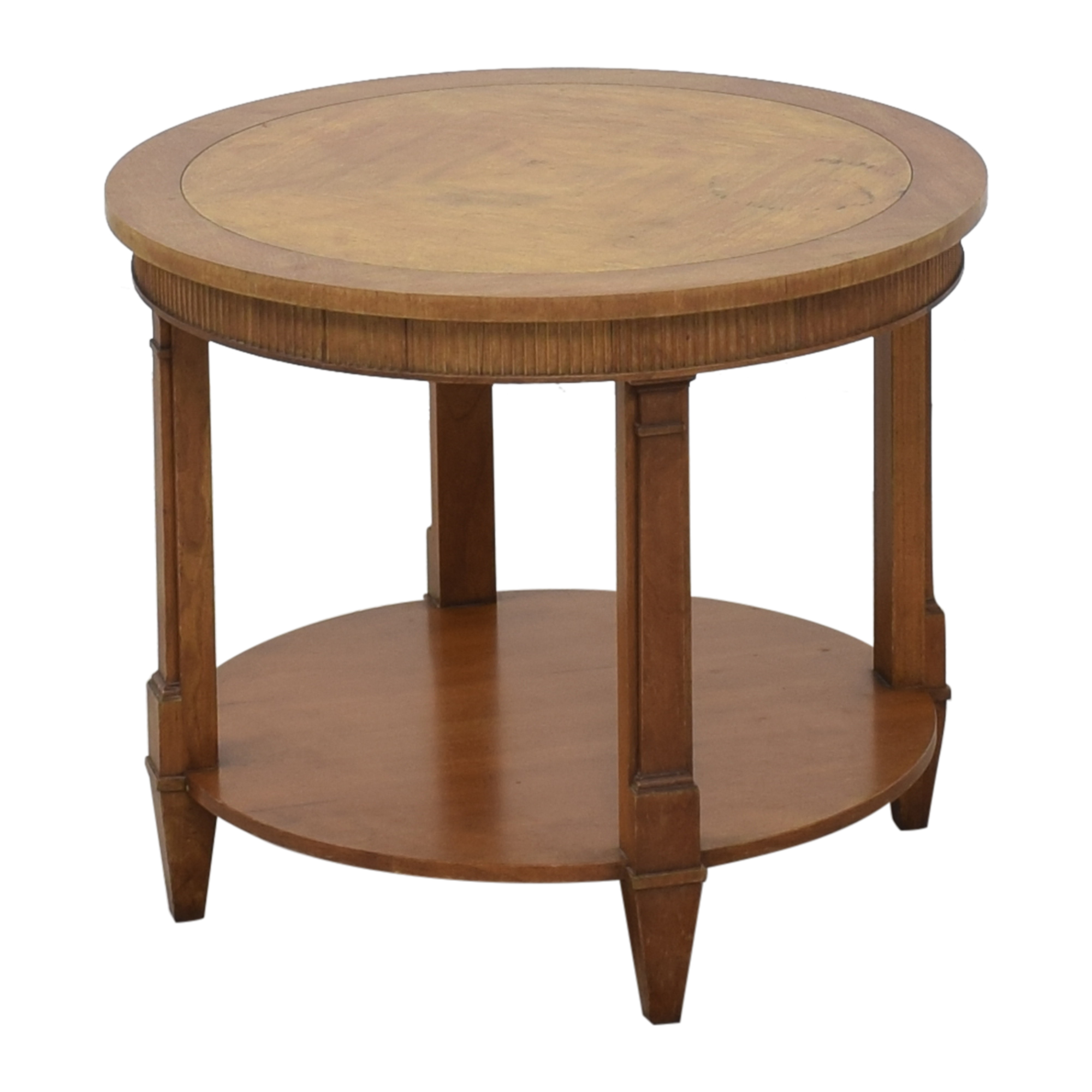Baker Furniture Round Accent Table / Tables