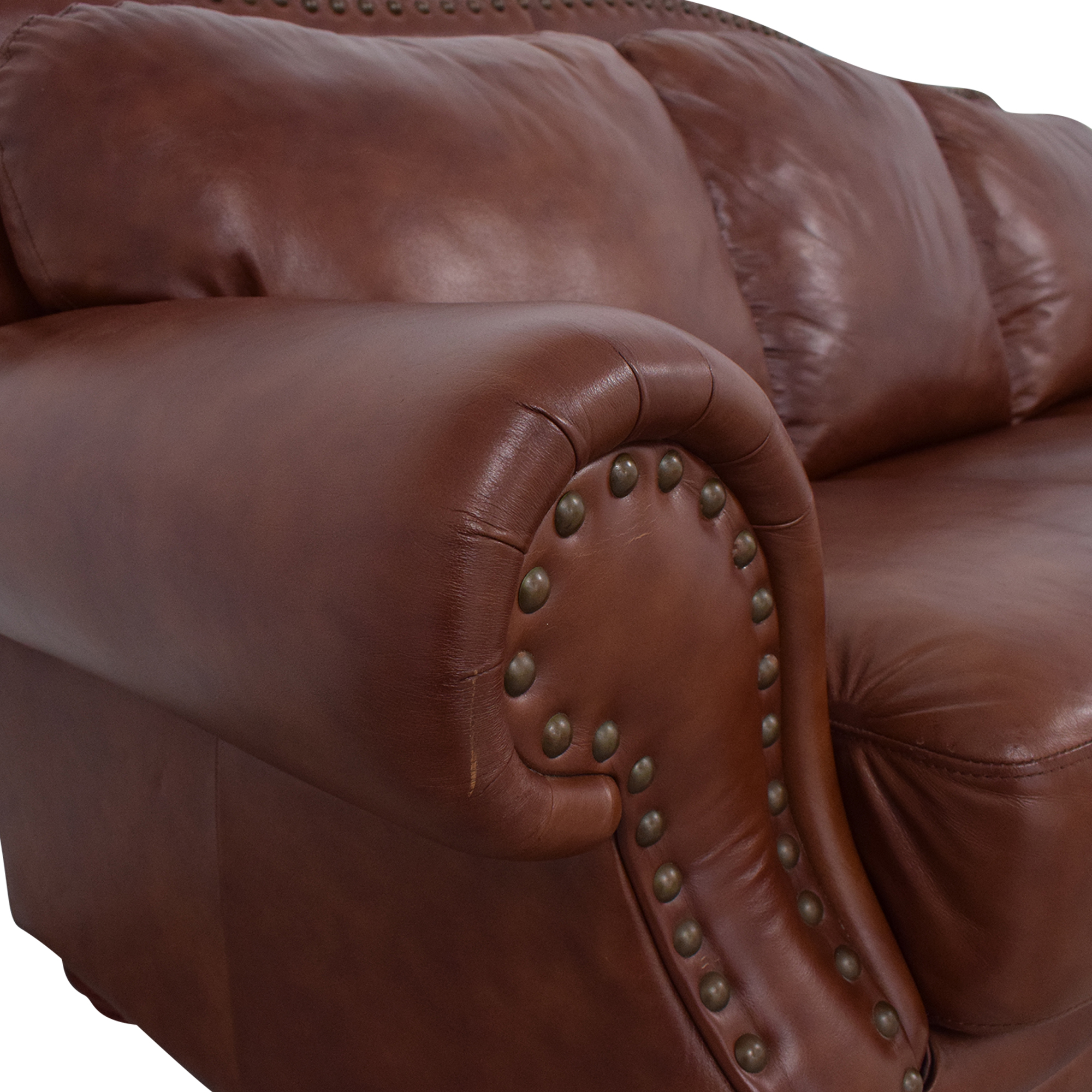buy Rolled Arm Camel Back Sofa  Classic Sofas