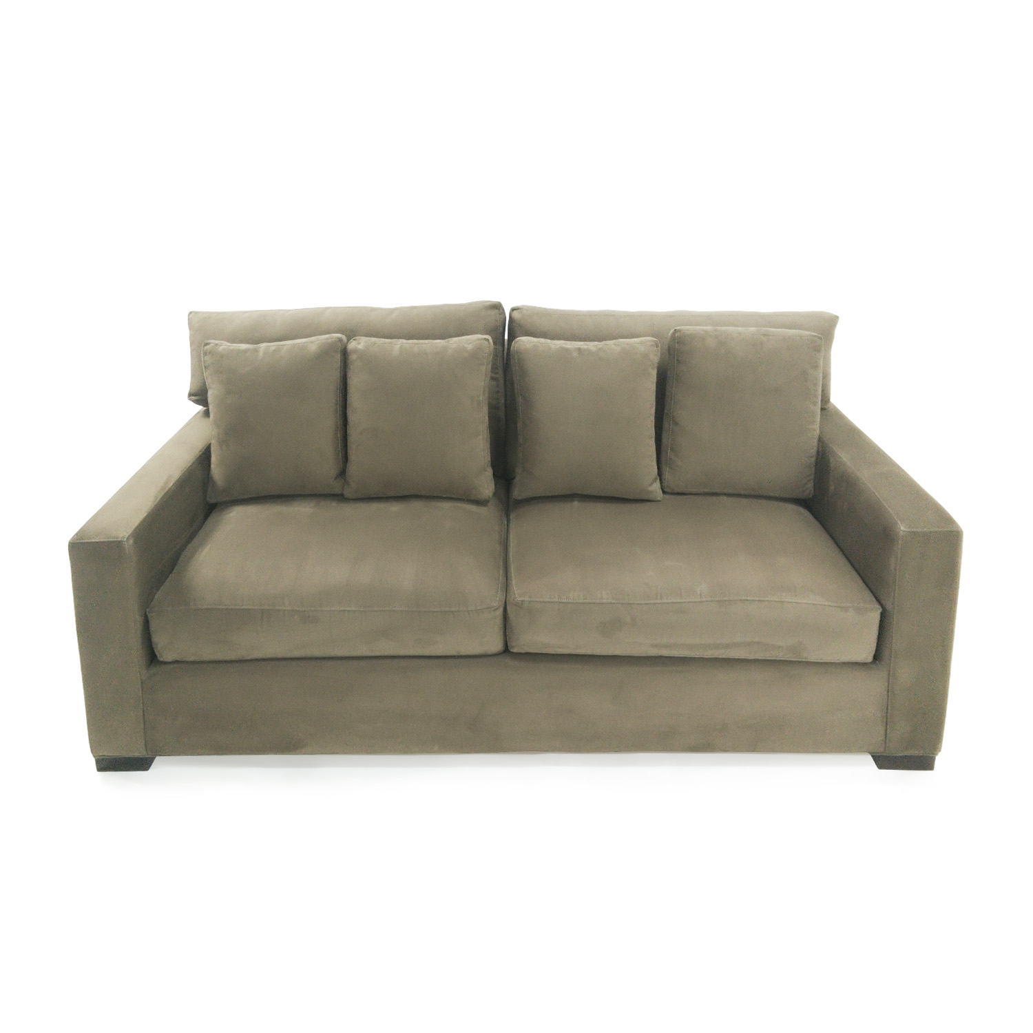Crate And Barrel Crate U0026 Barrel Axis II Seat Sofa Classic Sofas