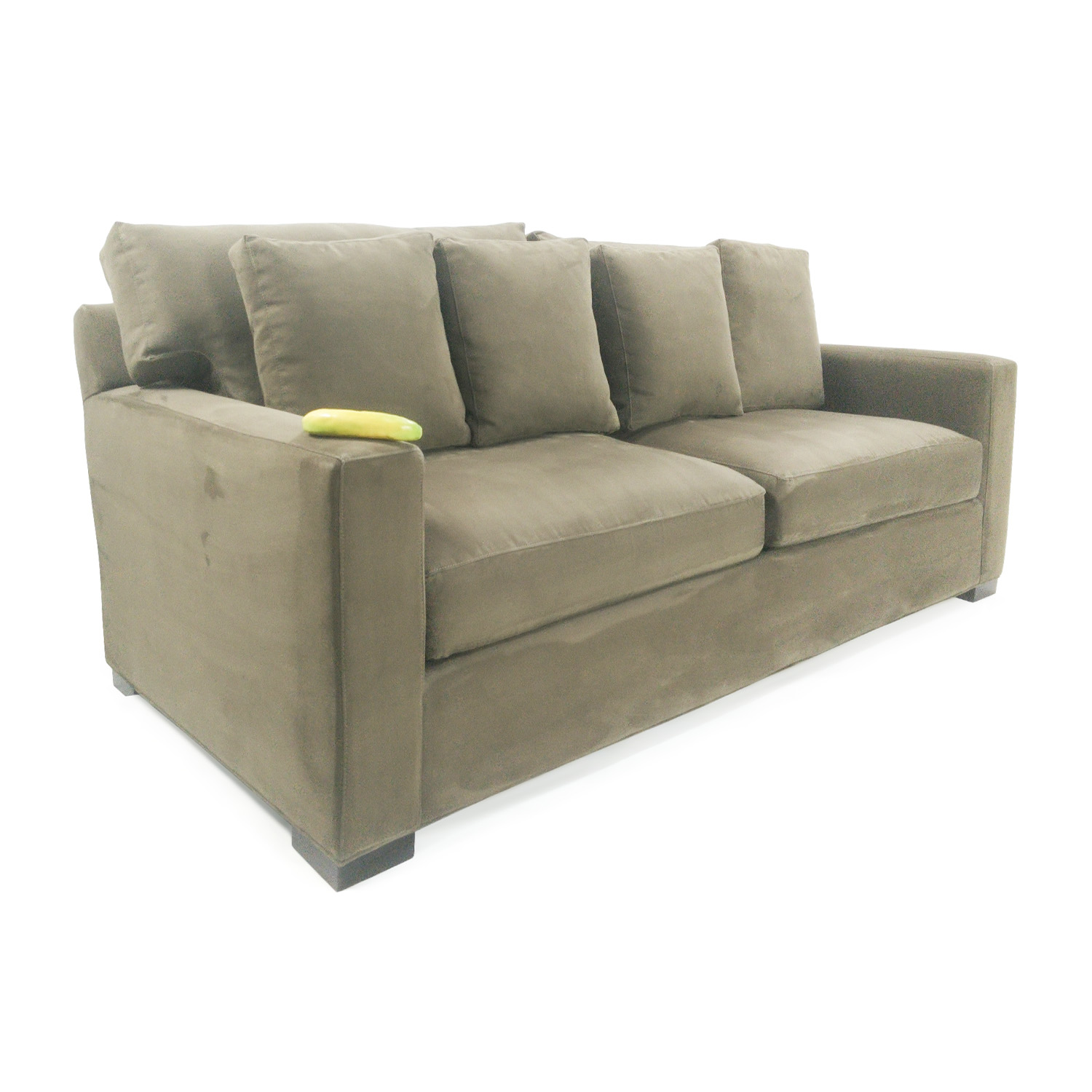 Axis sofa axis ii brown 3 seat sofa crate and barrel thesofa for Couch und sofa