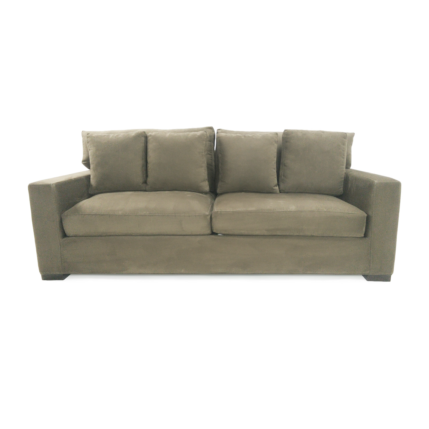 72% OFF - Crate & Barrel Crate & Barrel Axis II Seat Sofa / Sofas