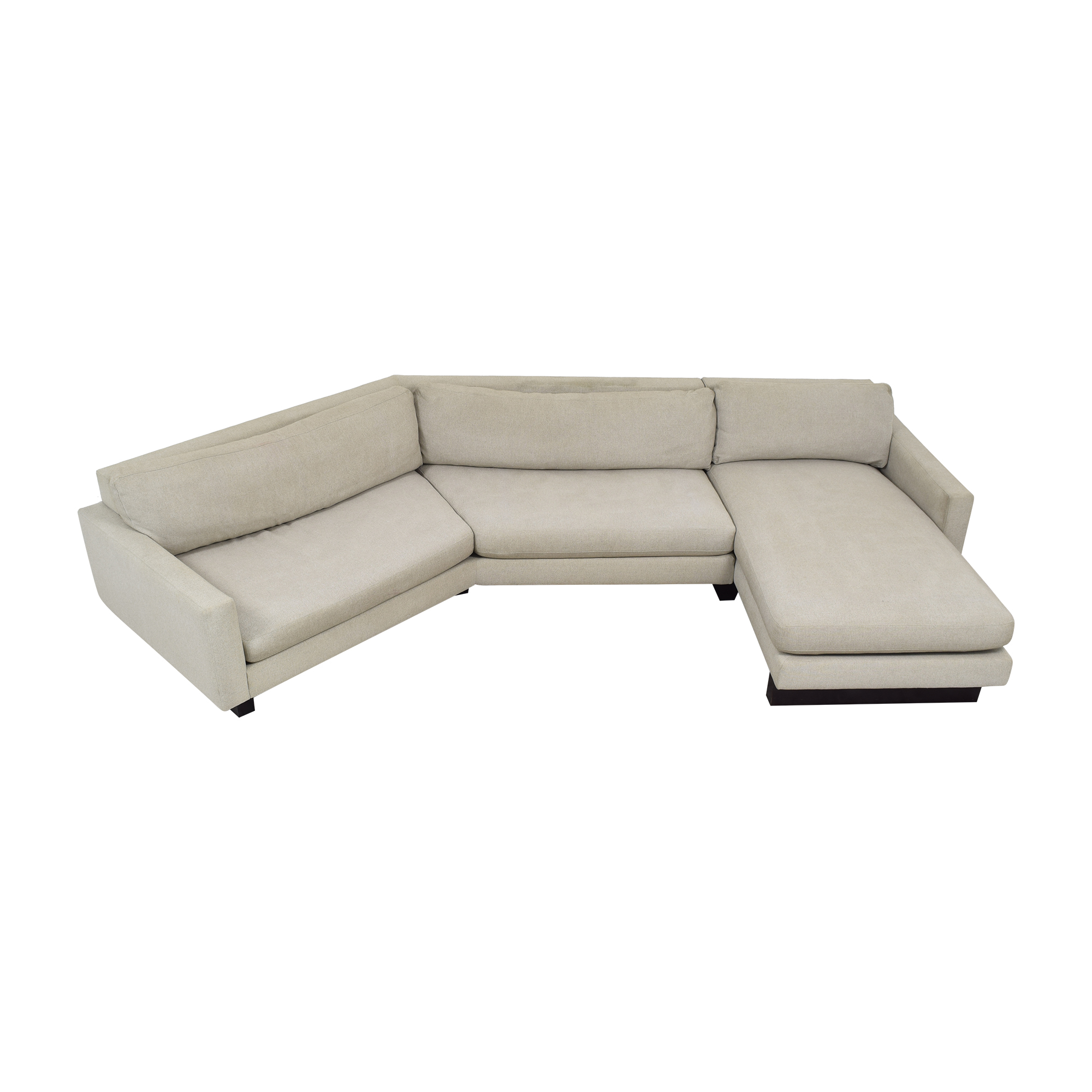 Room & Board Room & Board Hess Angled Sectional with Chaise ma