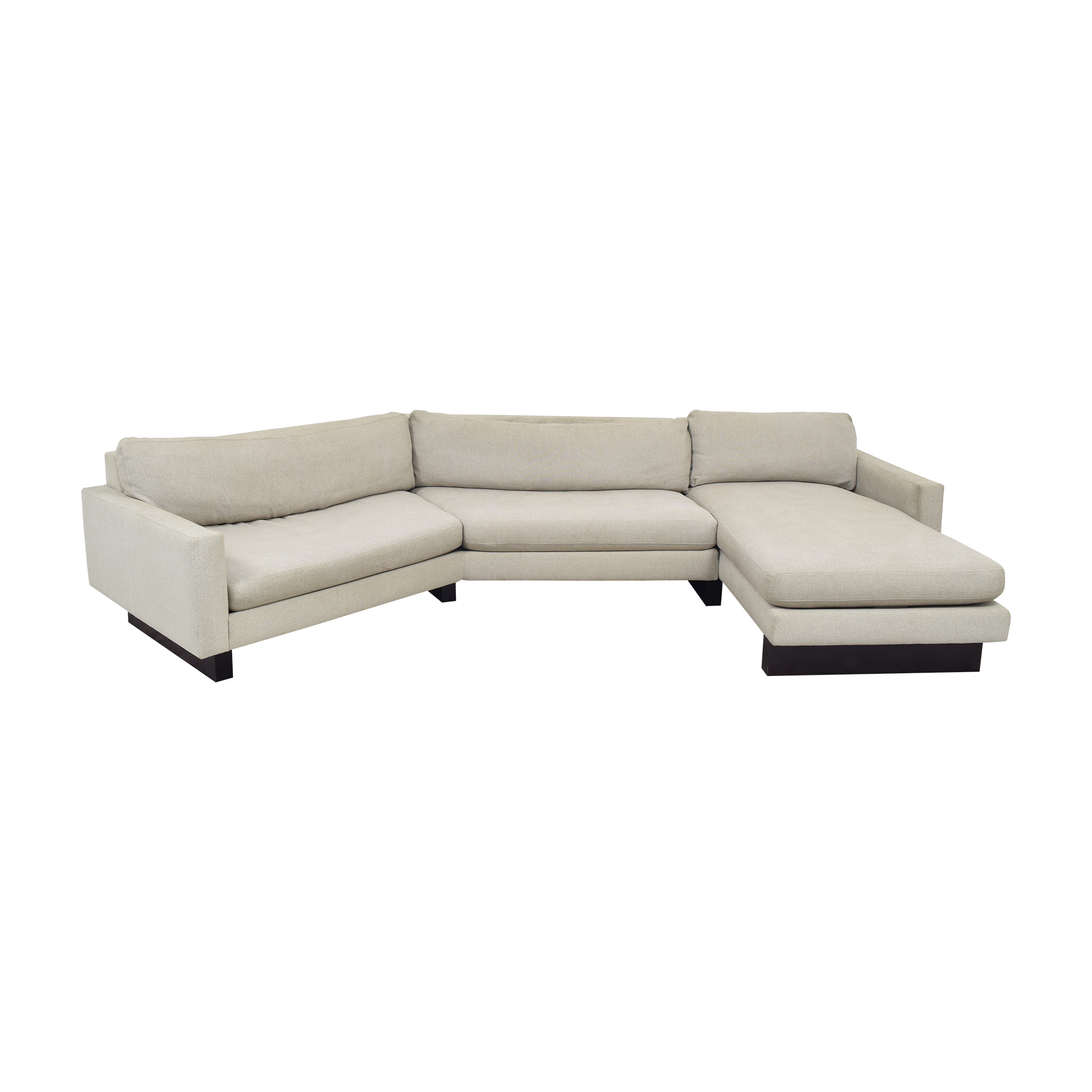 shop Room & Board Hess Angled Sectional with Chaise Room & Board
