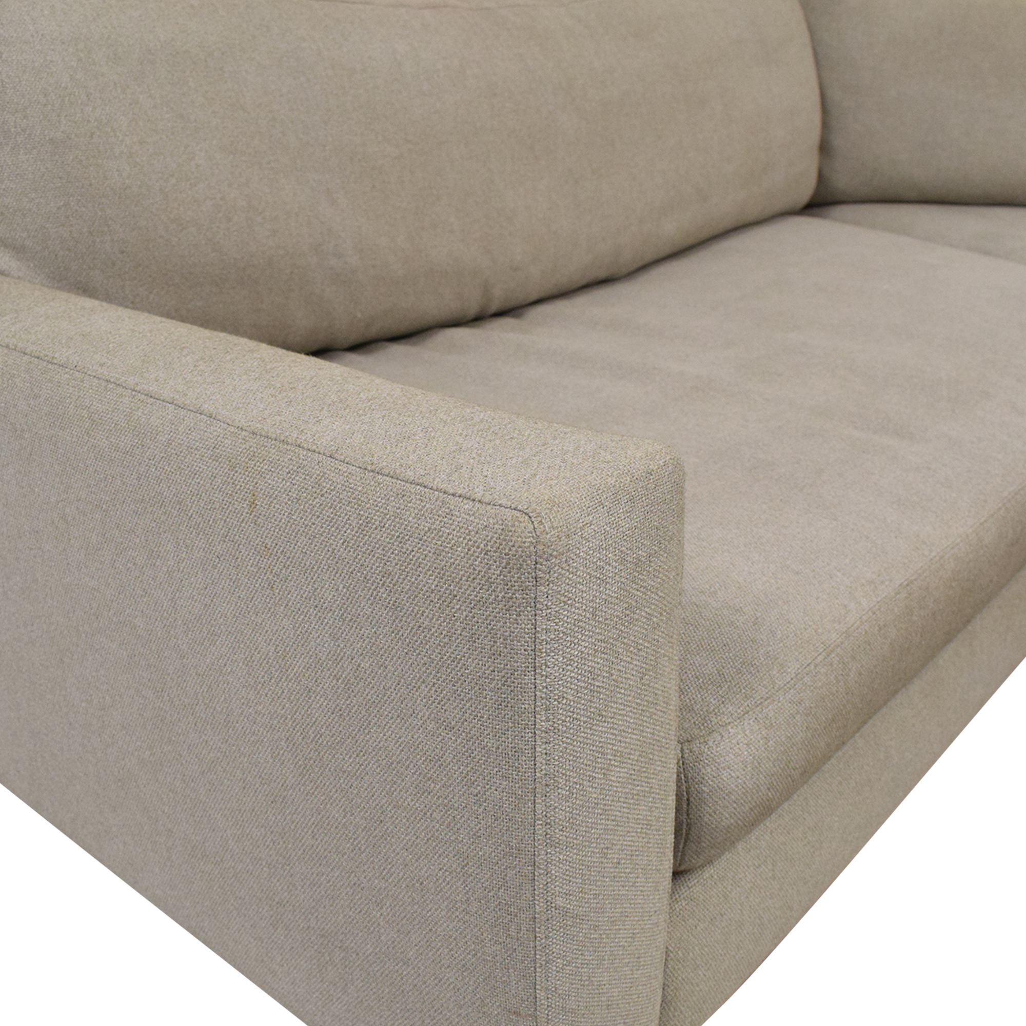 buy Room & Board Hess Angled Sectional with Chaise Room & Board Sofas