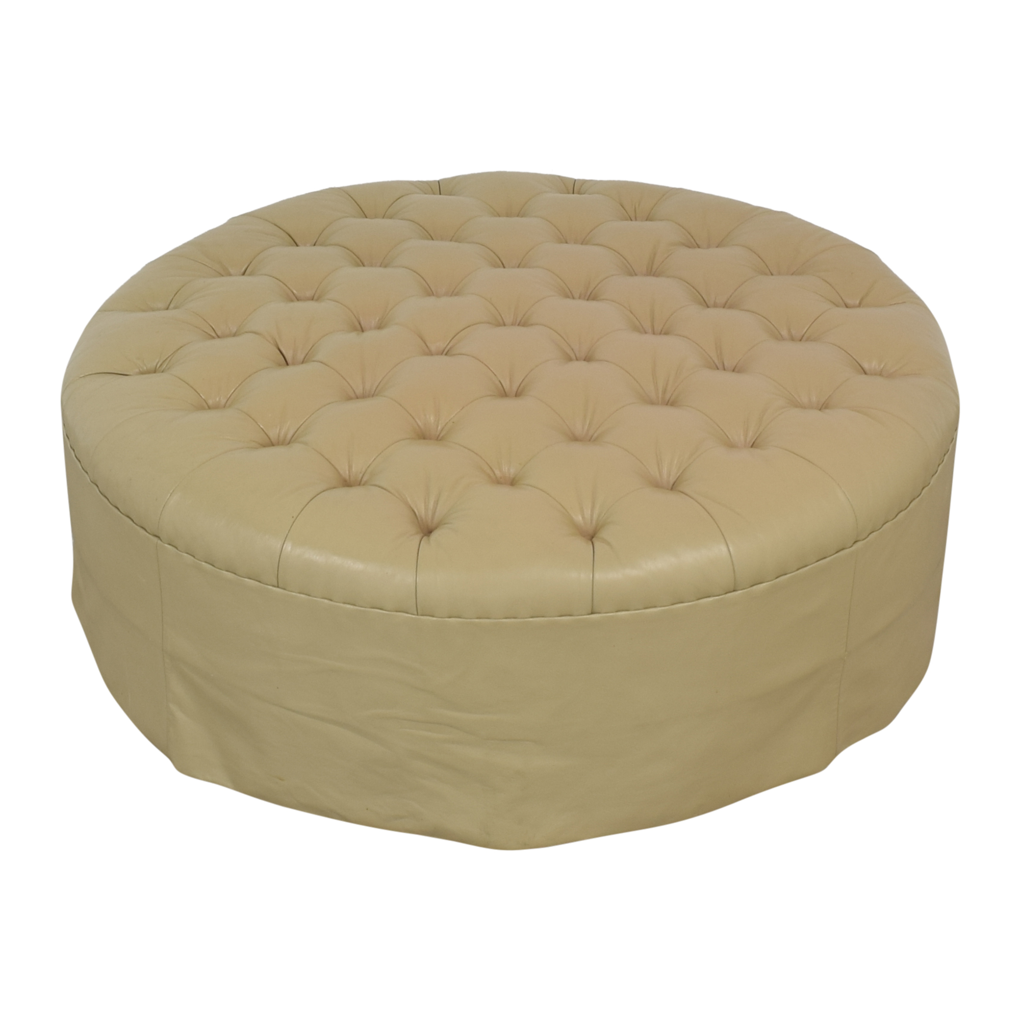 Vicente Wolf Vicente Wolf Round Tufted Ottoman discount