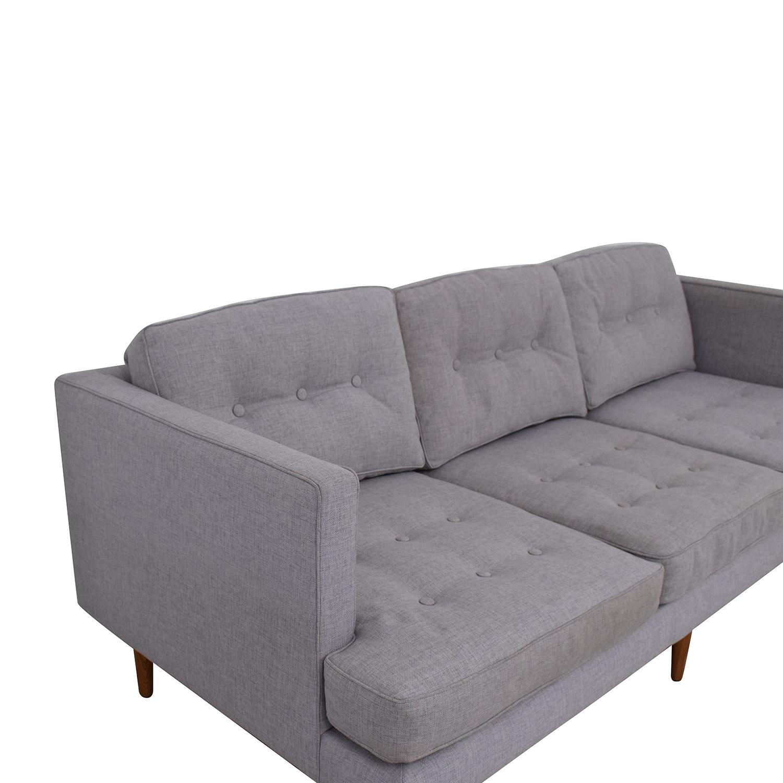 West Elm West Elm Peggy Mid-Century Sofa on sale