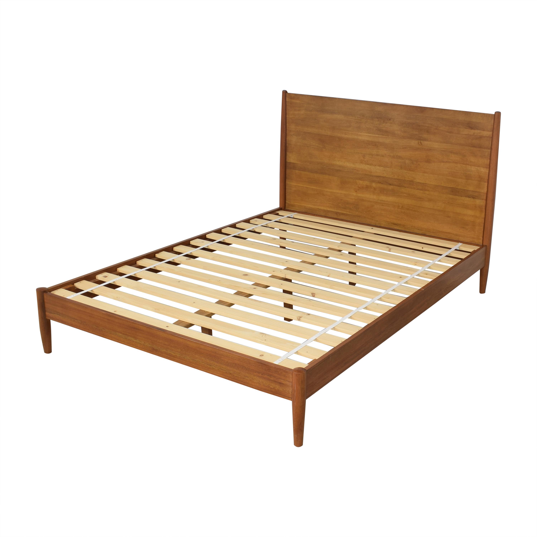 West Elm Mid-Century Queen Bed / Bed Frames