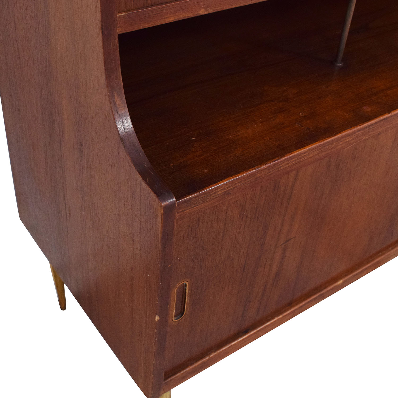 Vintage Mid-Century Hutch with Desk
