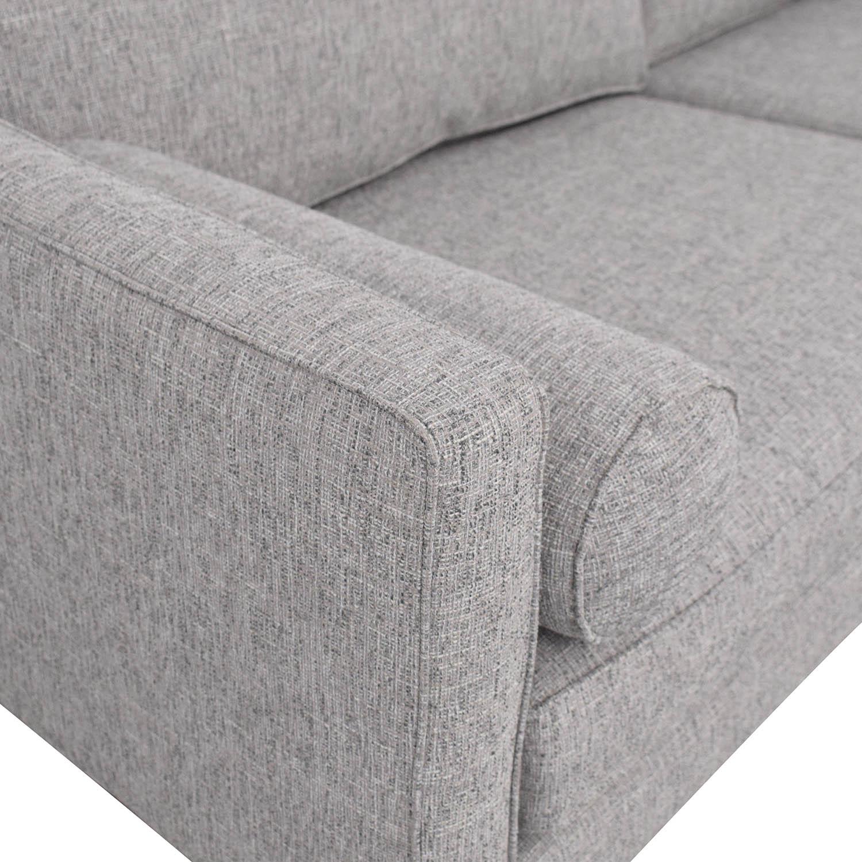 West Elm Monroe Mid-Century Sofa sale