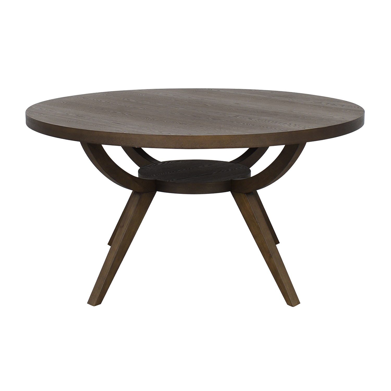 shop West Elm Arc Base Pedestal Table West Elm