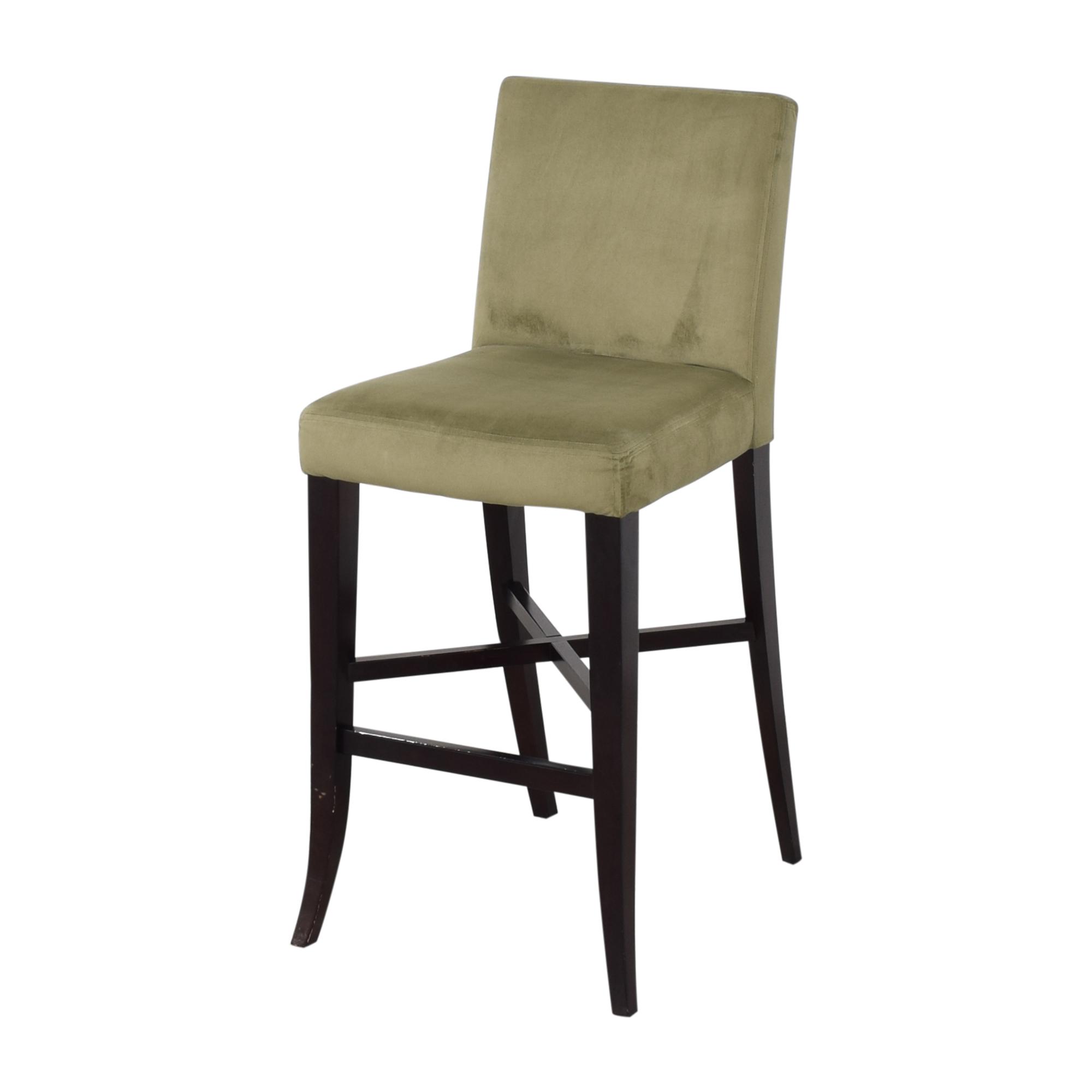 Crate & Barrel Upholstered Bar Stools / Stools