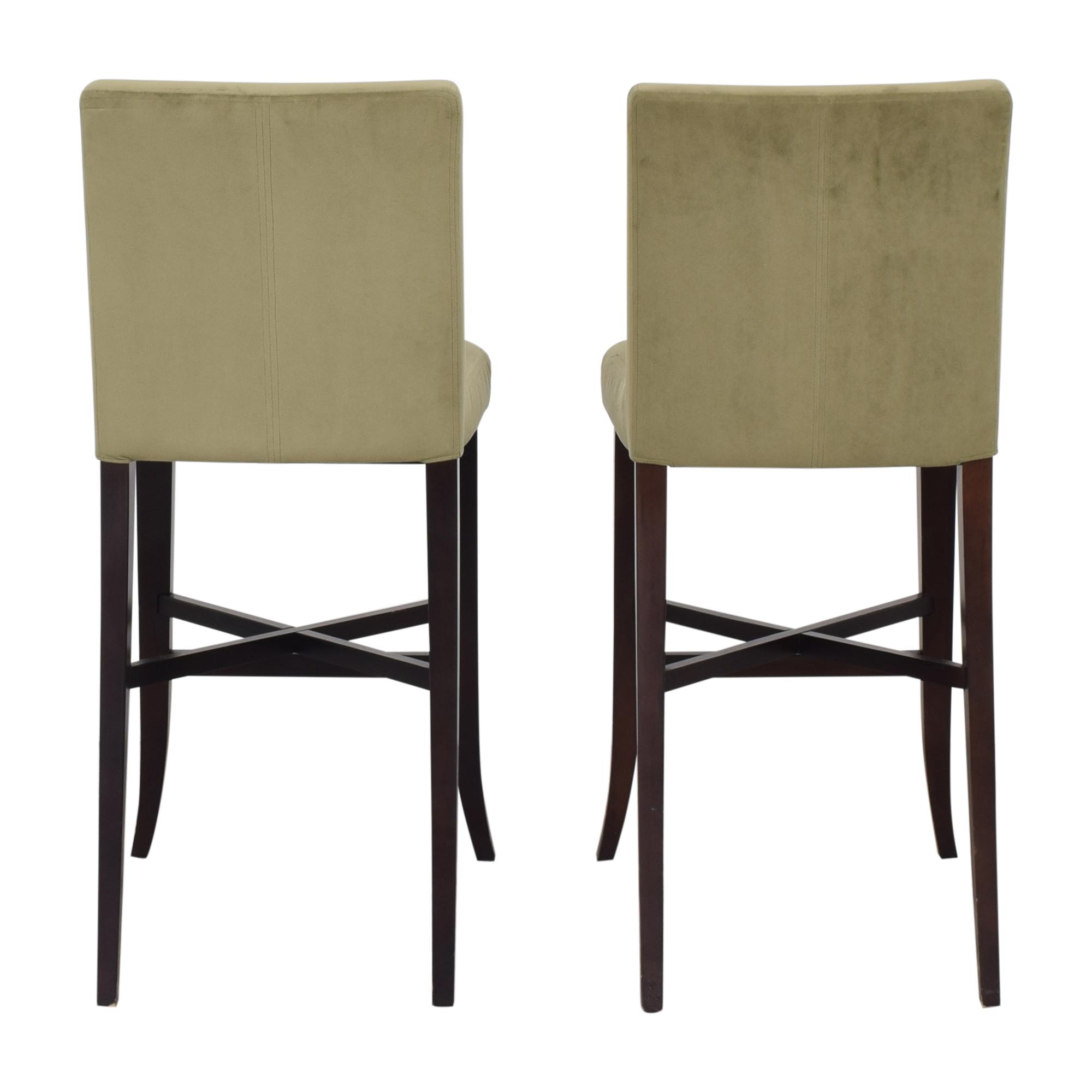 buy Crate & Barrel Upholstered Bar Stools Crate & Barrel
