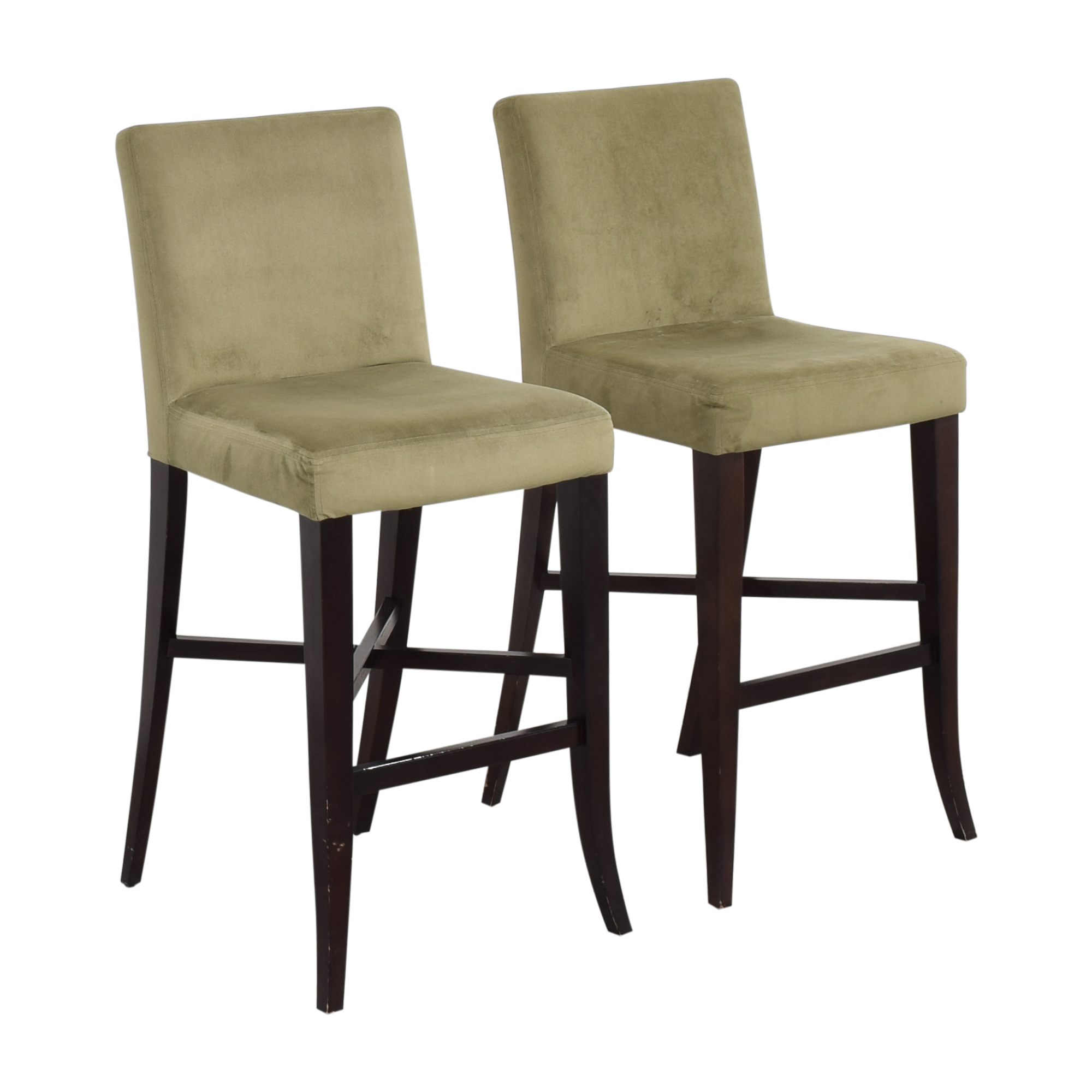 Crate & Barrel Crate & Barrel Upholstered Bar Stools Stools