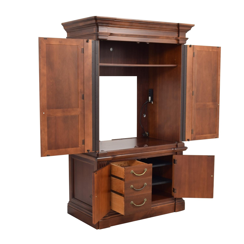 buy Hooker Furniture Media Hutch Hooker Furniture Storage